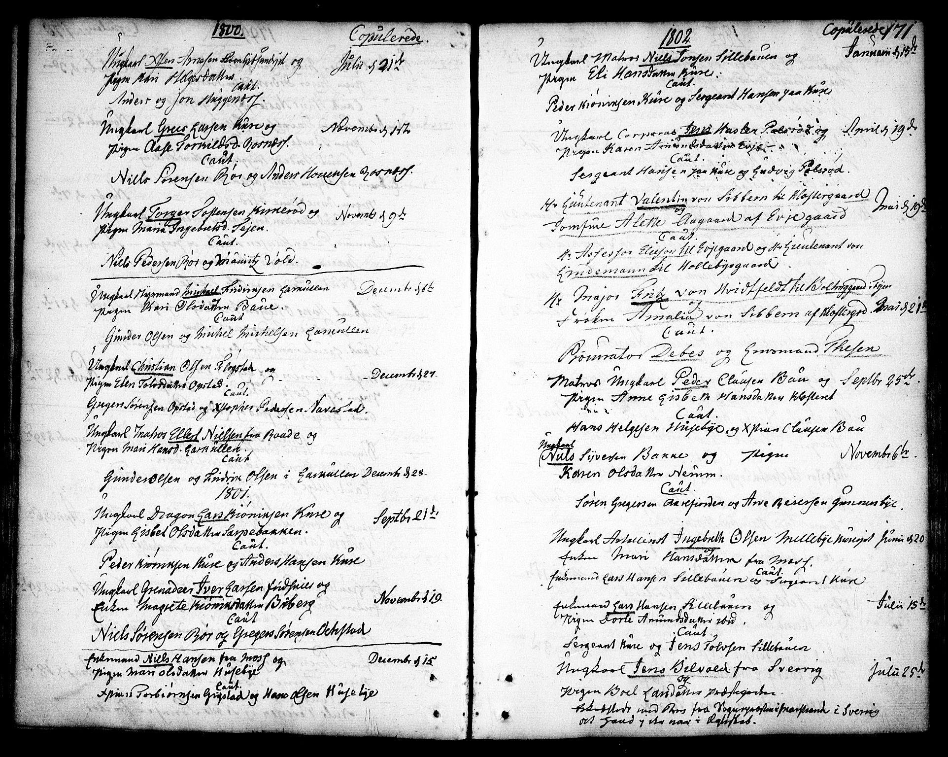 SAO, Rygge prestekontor Kirkebøker, F/Fa/L0002: Ministerialbok nr. 2, 1771-1814, s. 171
