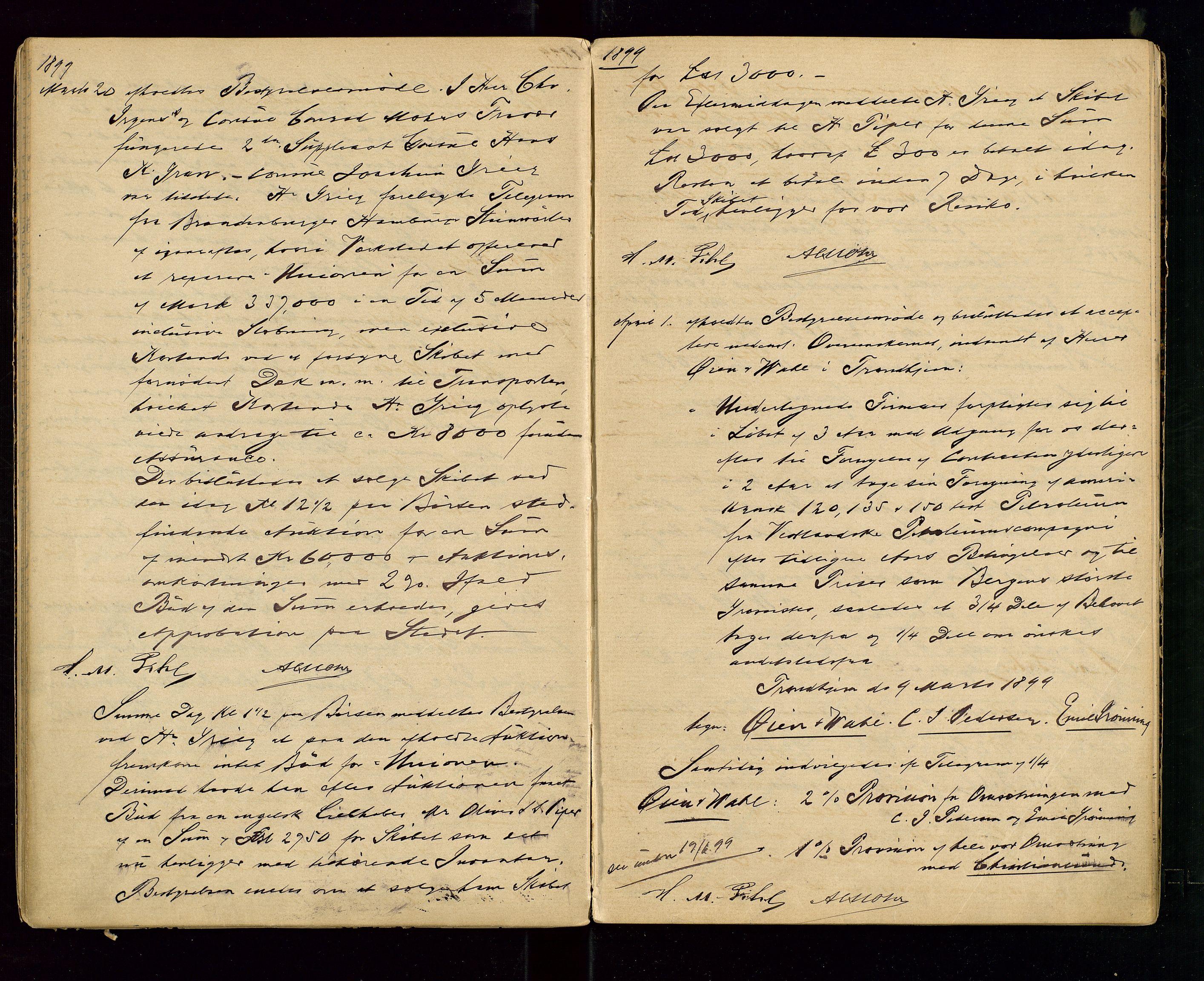 SAST, PA 1533 - A/S Vestlandske Petroleumscompani, A/Aa/L0001: Generalforsamlinger og styreprotokoller, 1890-1907, s. 35