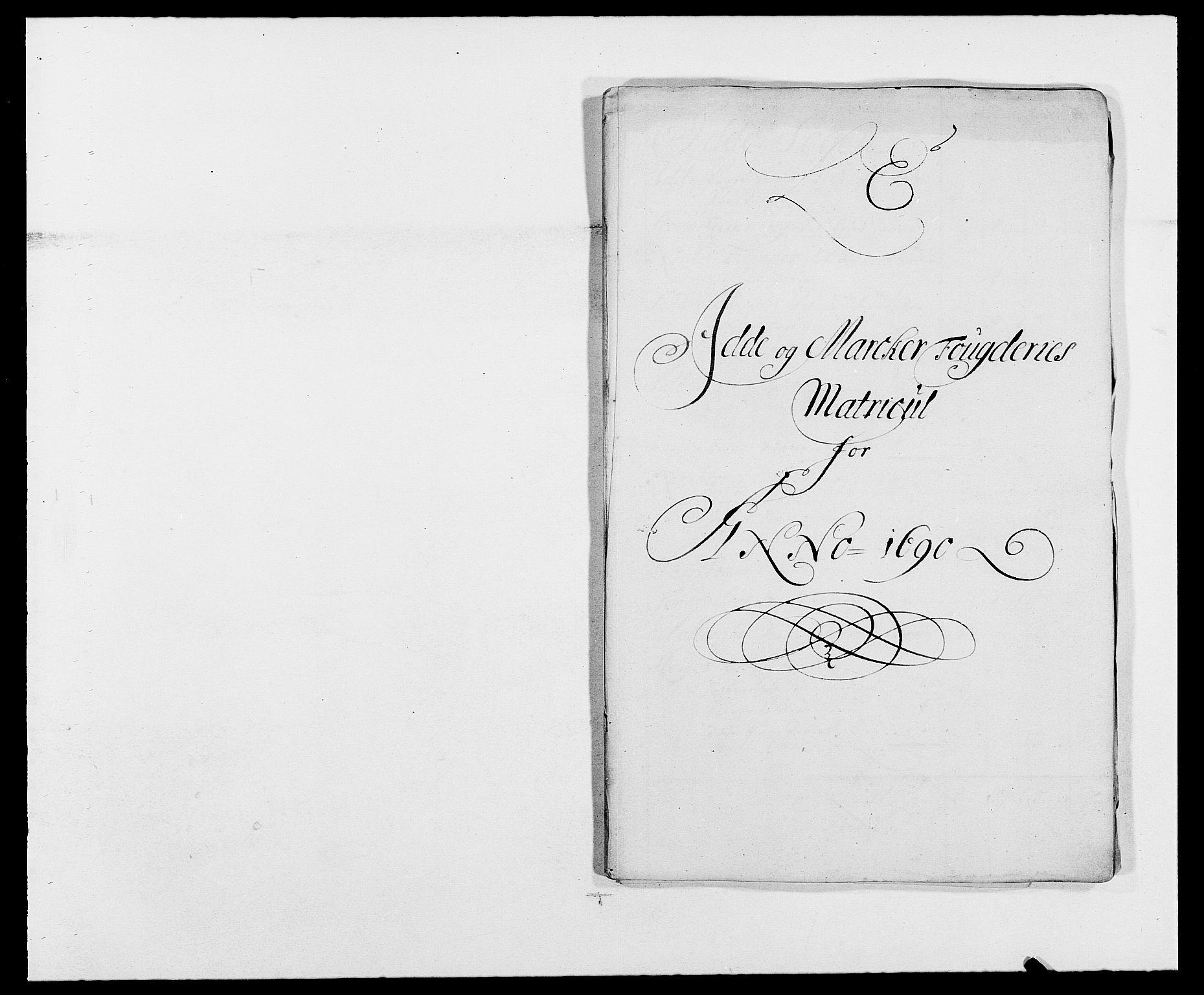 RA, Rentekammeret inntil 1814, Reviderte regnskaper, Fogderegnskap, R01/L0010: Fogderegnskap Idd og Marker, 1690-1691, s. 201