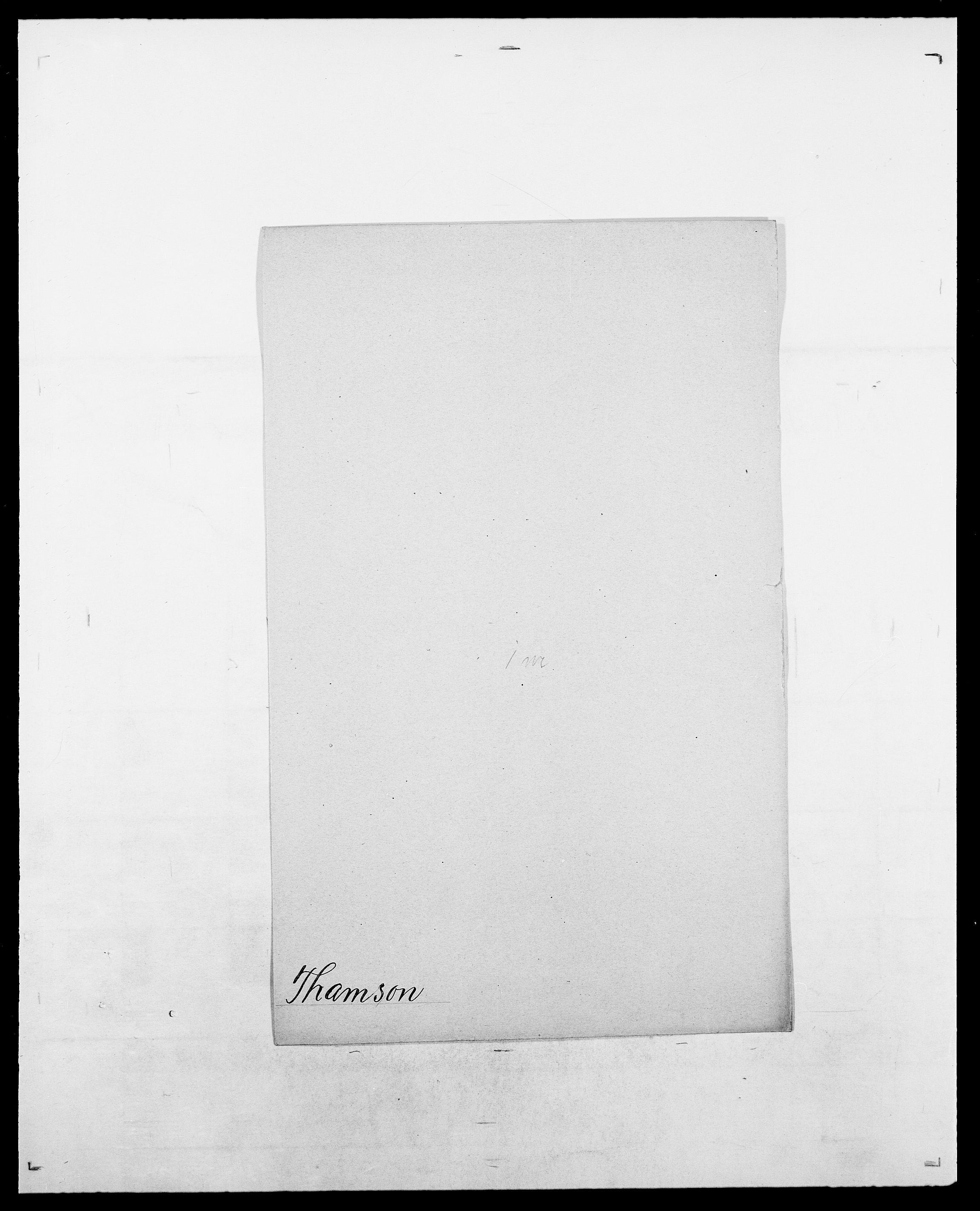 SAO, Delgobe, Charles Antoine - samling, D/Da/L0038: Svanenskjold - Thornsohn, s. 454