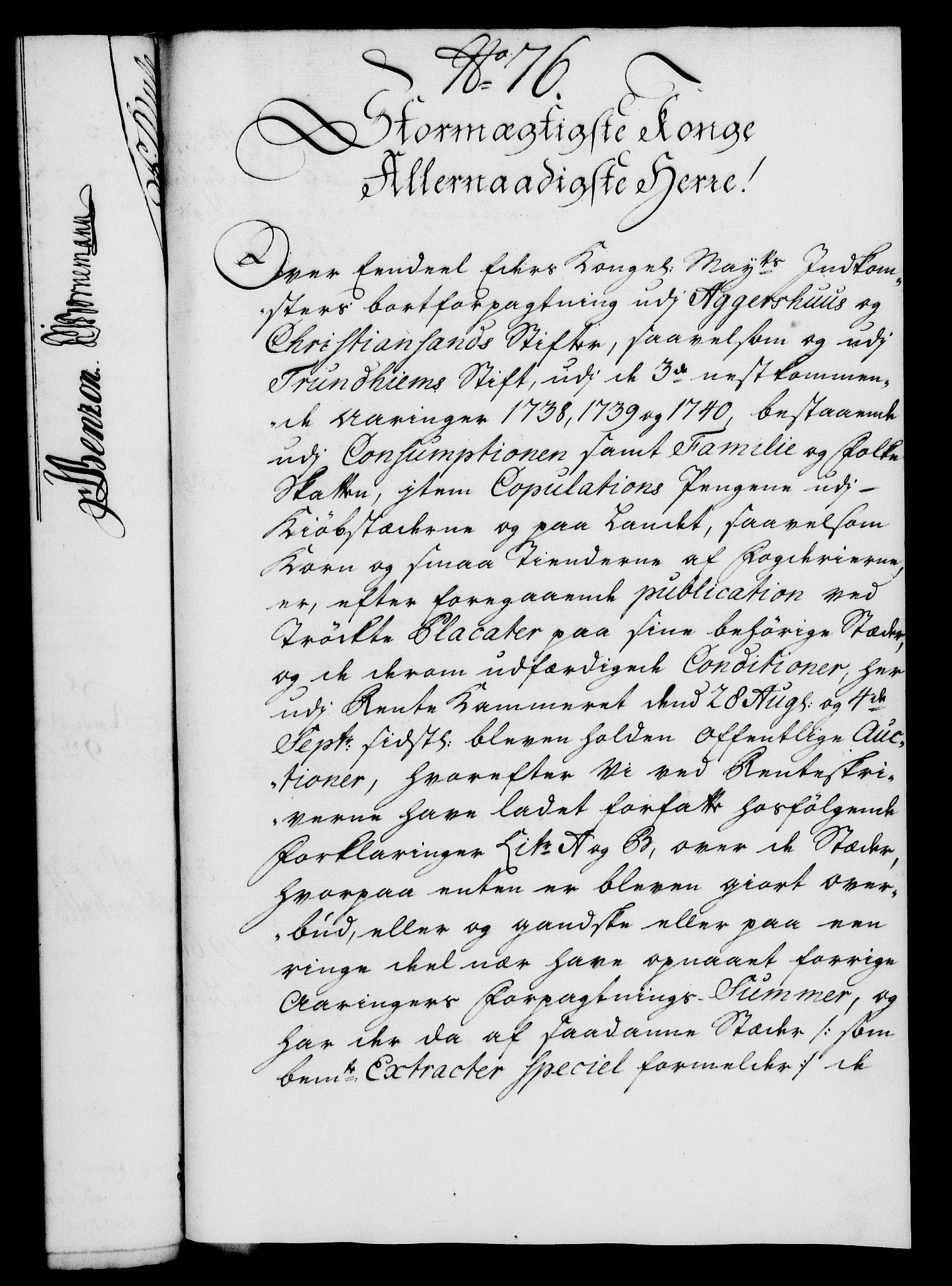RA, Rentekammeret, Kammerkanselliet, G/Gf/Gfa/L0020: Norsk relasjons- og resolusjonsprotokoll (merket RK 52.20), 1737, s. 585