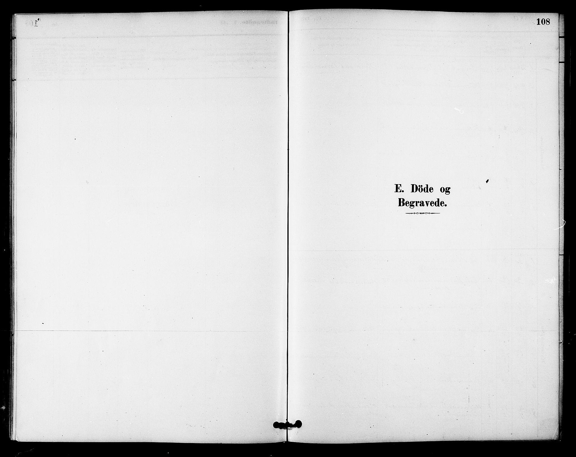SAT, Ministerialprotokoller, klokkerbøker og fødselsregistre - Sør-Trøndelag, 618/L0444: Ministerialbok nr. 618A07, 1880-1898, s. 108
