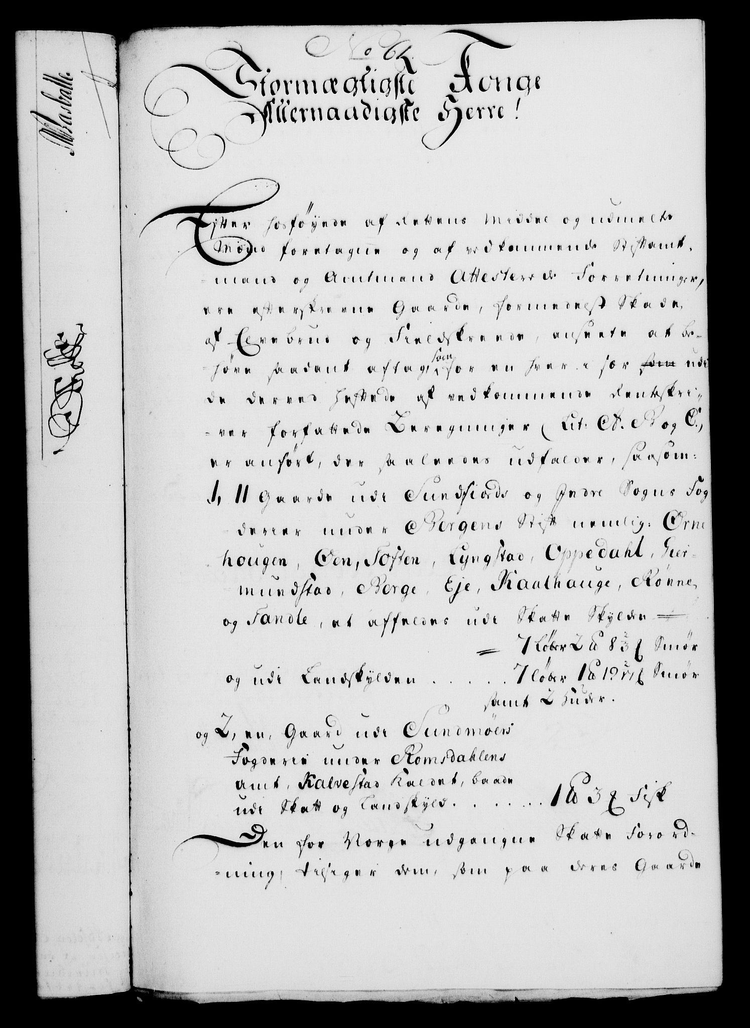 RA, Rentekammeret, Kammerkanselliet, G/Gf/Gfa/L0032: Norsk relasjons- og resolusjonsprotokoll (merket RK 52.32), 1750, s. 273