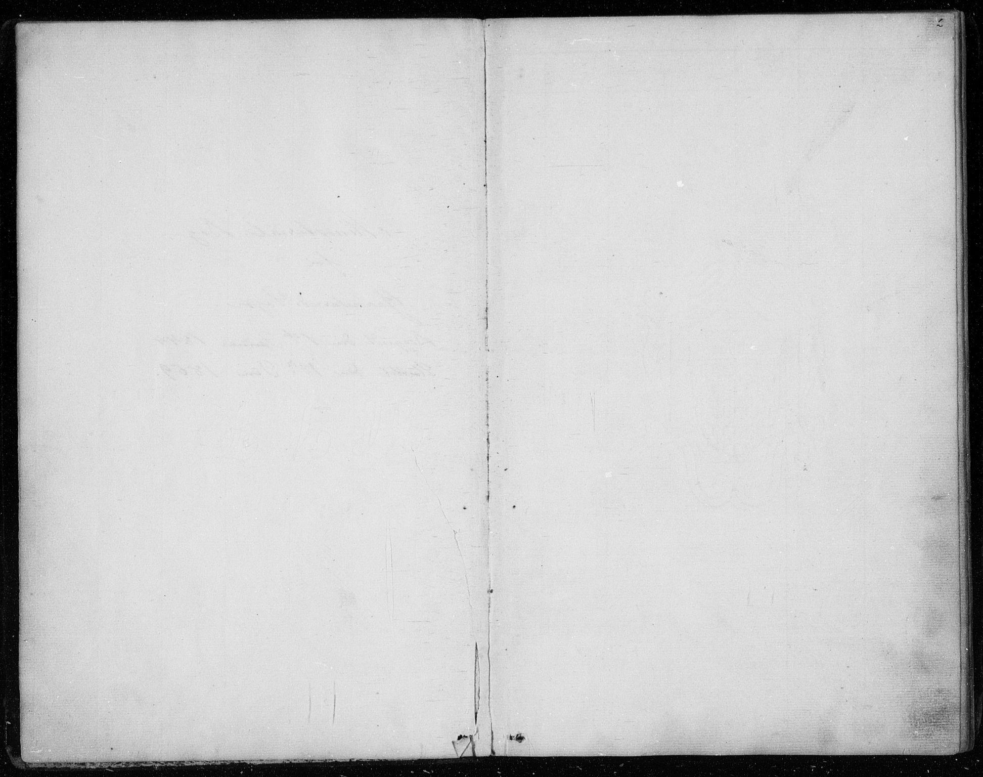 SAKO, Gransherad kirkebøker, F/Fa/L0002: Ministerialbok nr. I 2, 1844-1859, s. 2