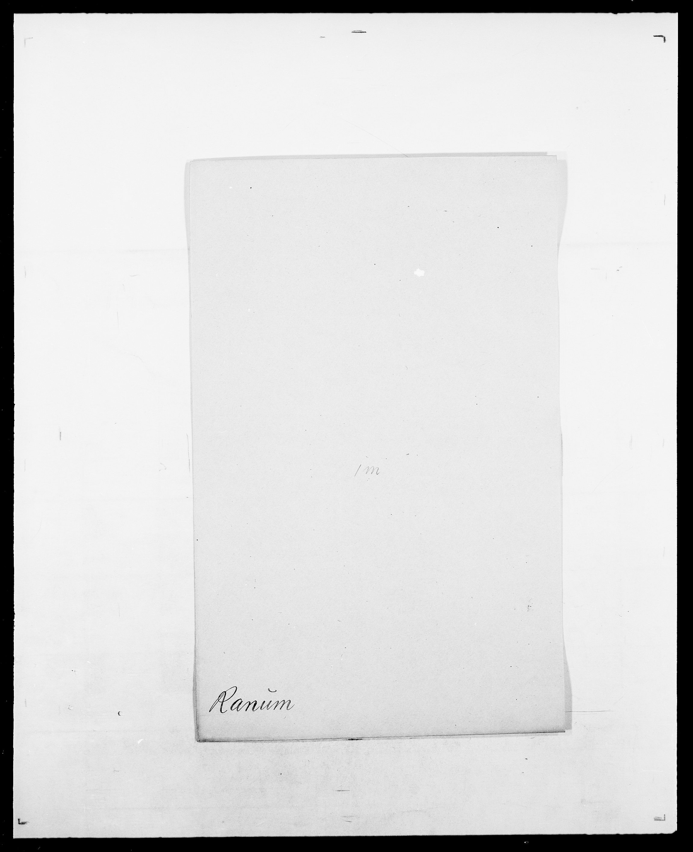 SAO, Delgobe, Charles Antoine - samling, D/Da/L0032: Rabakovsky - Rivertz, s. 127