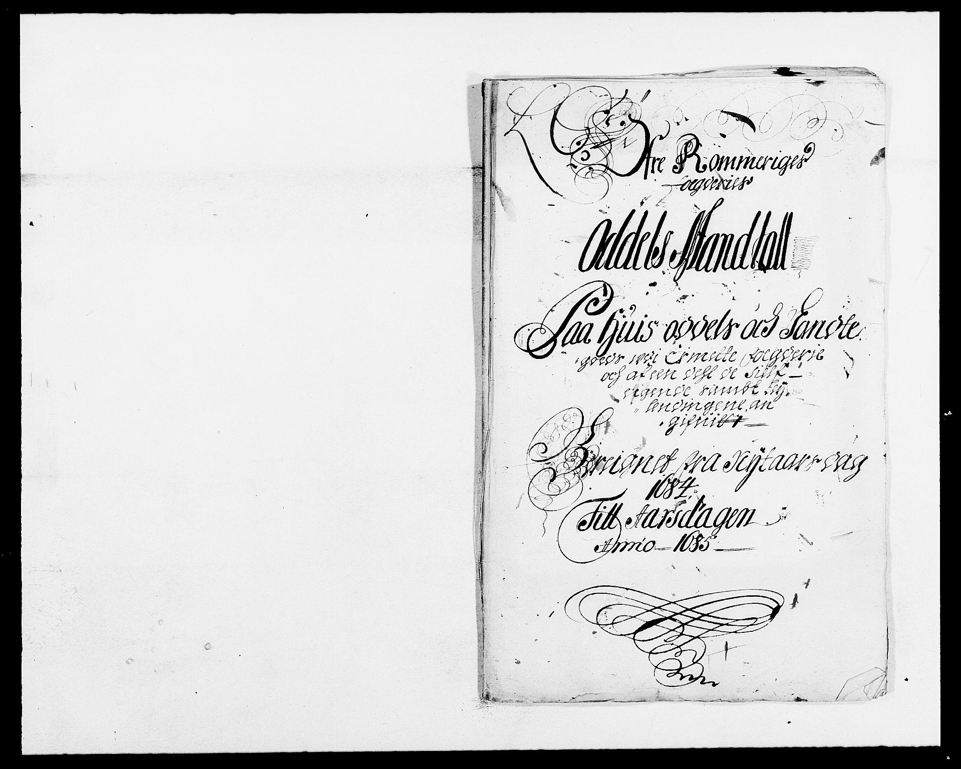 RA, Rentekammeret inntil 1814, Reviderte regnskaper, Fogderegnskap, R12/L0698: Fogderegnskap Øvre Romerike, 1684, s. 36