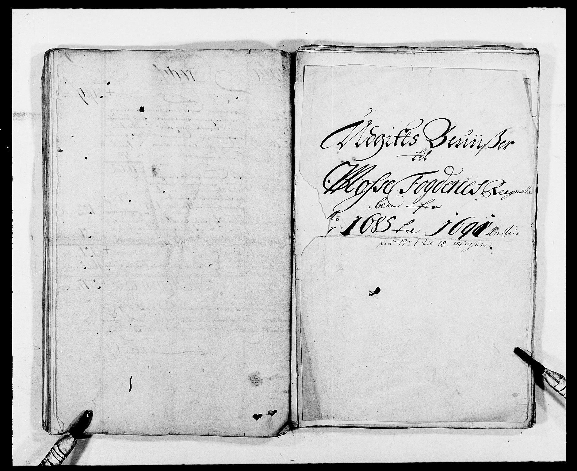 RA, Rentekammeret inntil 1814, Reviderte regnskaper, Fogderegnskap, R02/L0107: Fogderegnskap Moss og Verne kloster, 1685-1691, s. 59
