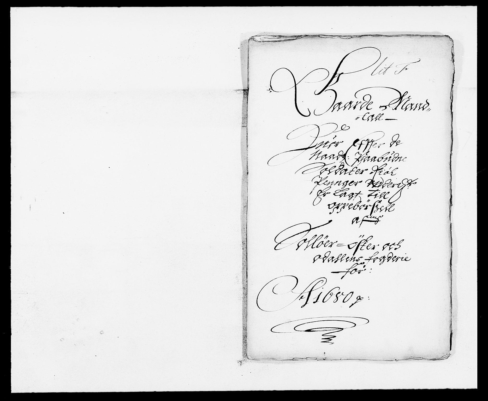 RA, Rentekammeret inntil 1814, Reviderte regnskaper, Fogderegnskap, R13/L0817: Fogderegnskap Solør, Odal og Østerdal, 1680, s. 211