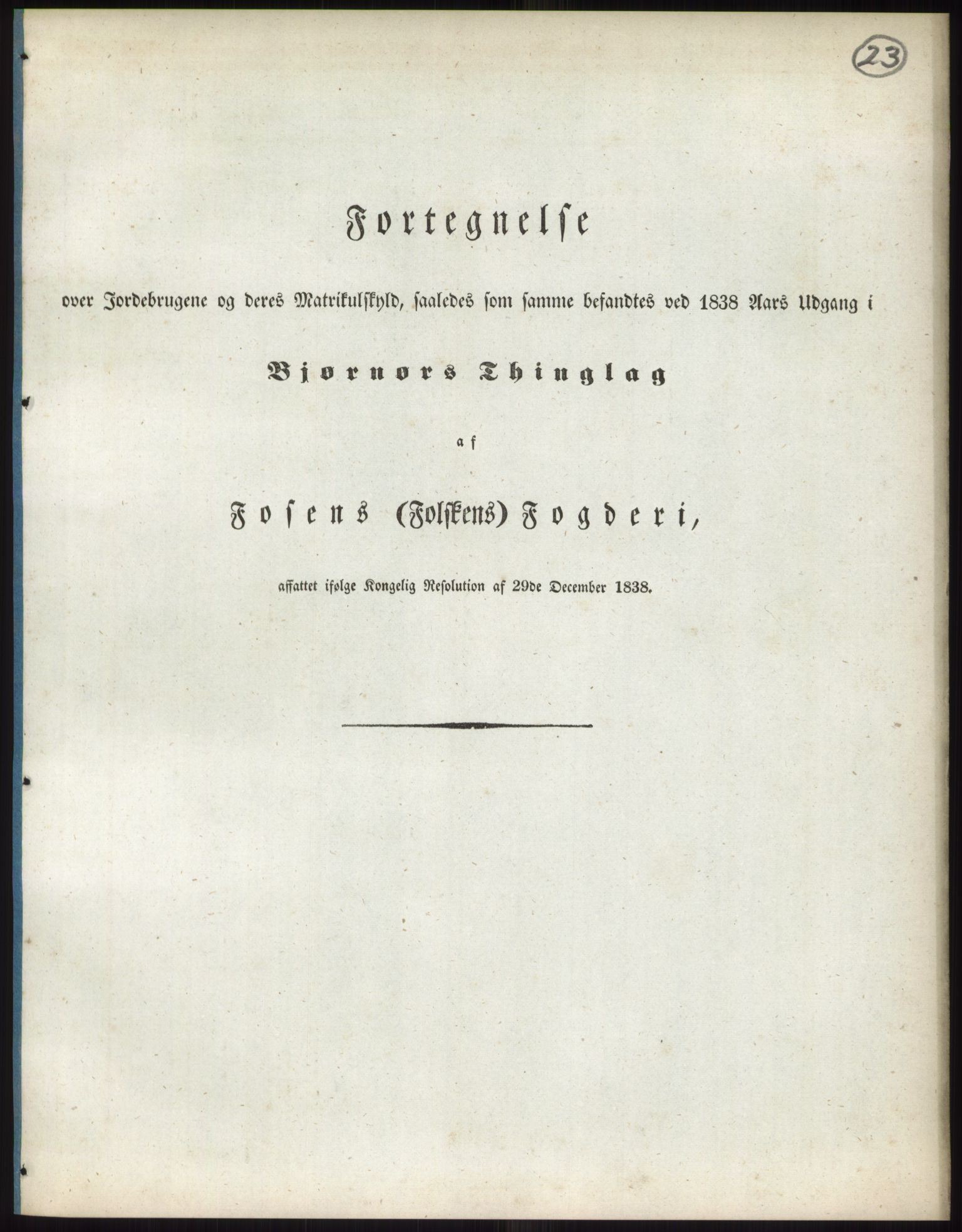 PUBL, Andre publikasjoner, -/Bind 15: Søndre Trondhjems amt, 1838, s. 38
