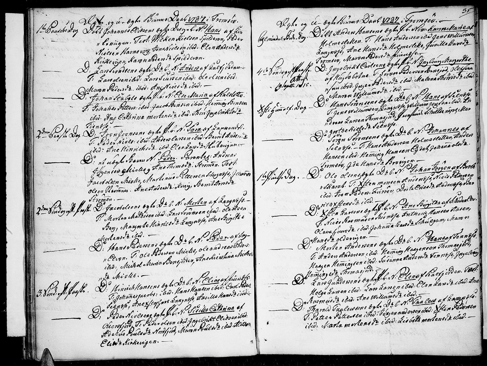 SATØ, Tromsø sokneprestkontor/stiftsprosti/domprosti, G/Ga/L0003kirke: Ministerialbok nr. 3, 1779-1796, s. 35