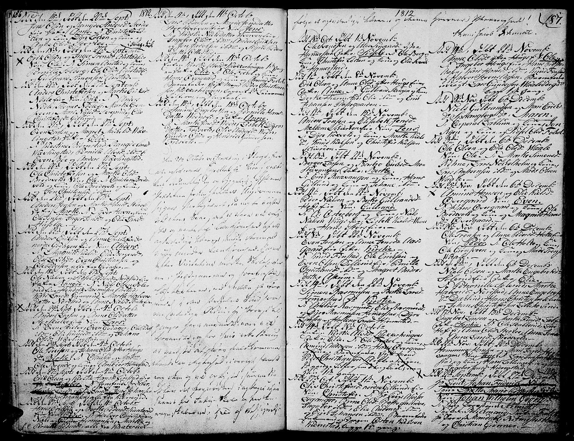 SAH, Stange prestekontor, K/L0007: Ministerialbok nr. 7, 1788-1813, s. 186-187