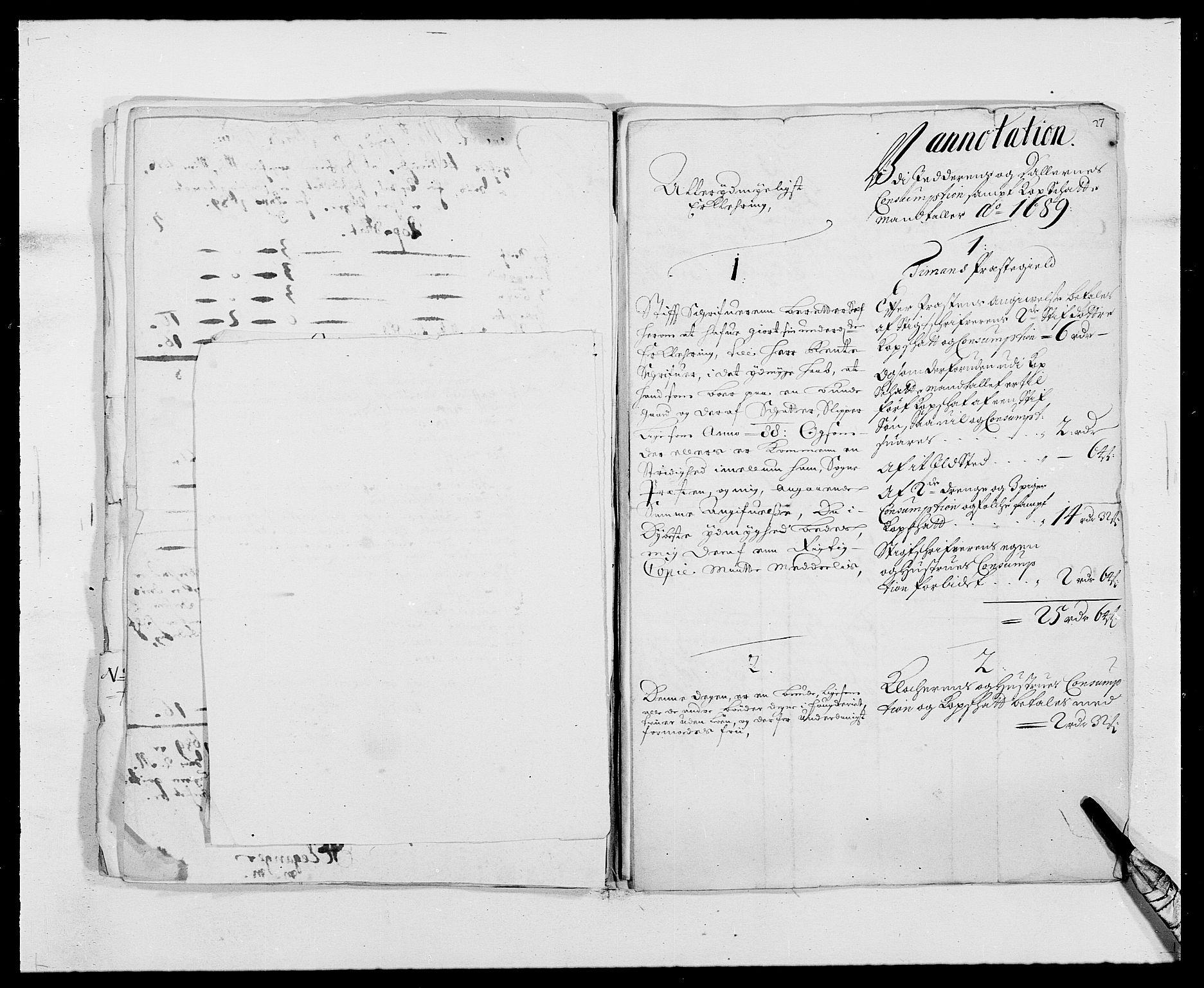 RA, Rentekammeret inntil 1814, Reviderte regnskaper, Fogderegnskap, R46/L2726: Fogderegnskap Jæren og Dalane, 1686-1689, s. 360