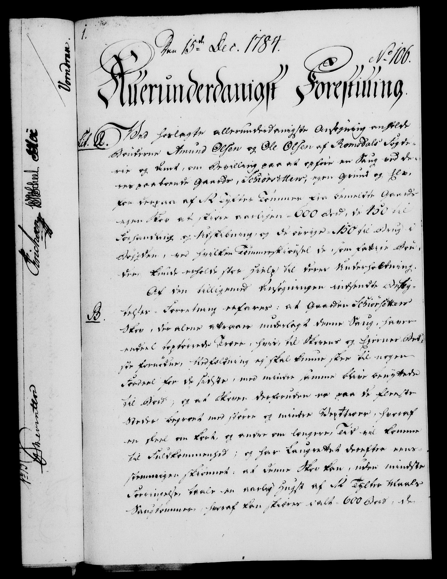 RA, Rentekammeret, Kammerkanselliet, G/Gf/Gfa/L0066: Norsk relasjons- og resolusjonsprotokoll (merket RK 52.66), 1784, s. 764