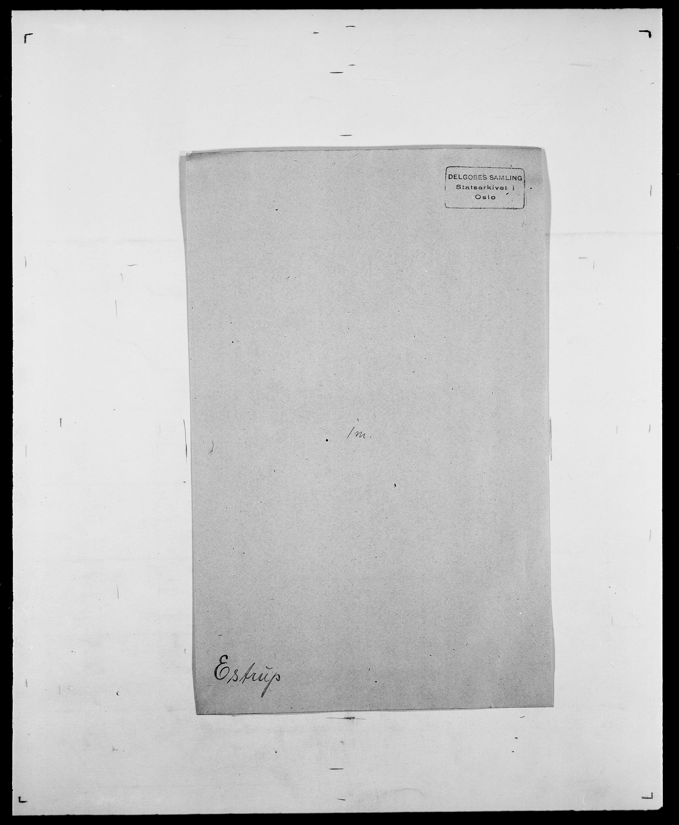 SAO, Delgobe, Charles Antoine - samling, D/Da/L0010: Dürendahl - Fagelund, s. 672