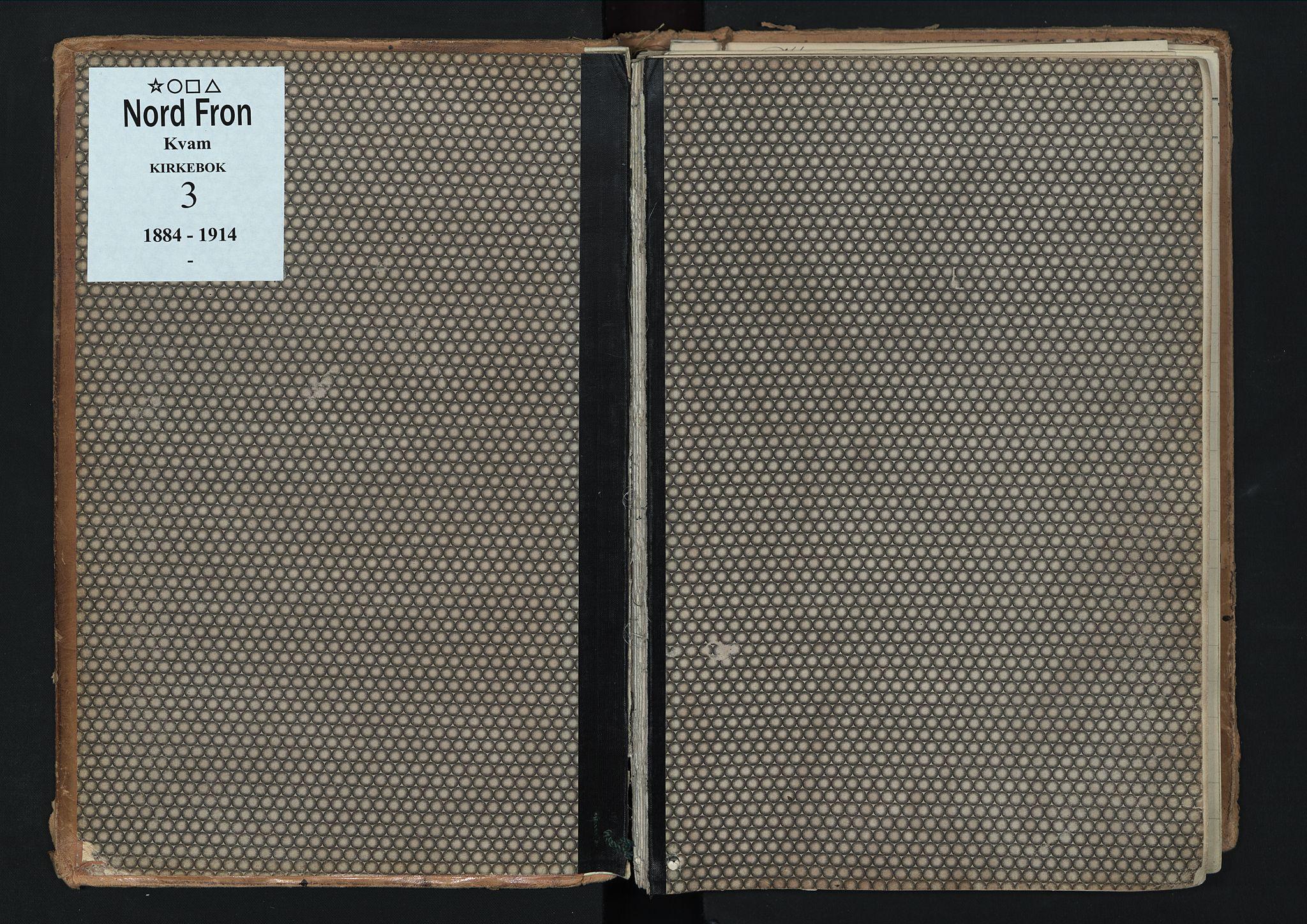 SAH, Nord-Fron prestekontor, Ministerialbok nr. 3, 1884-1914