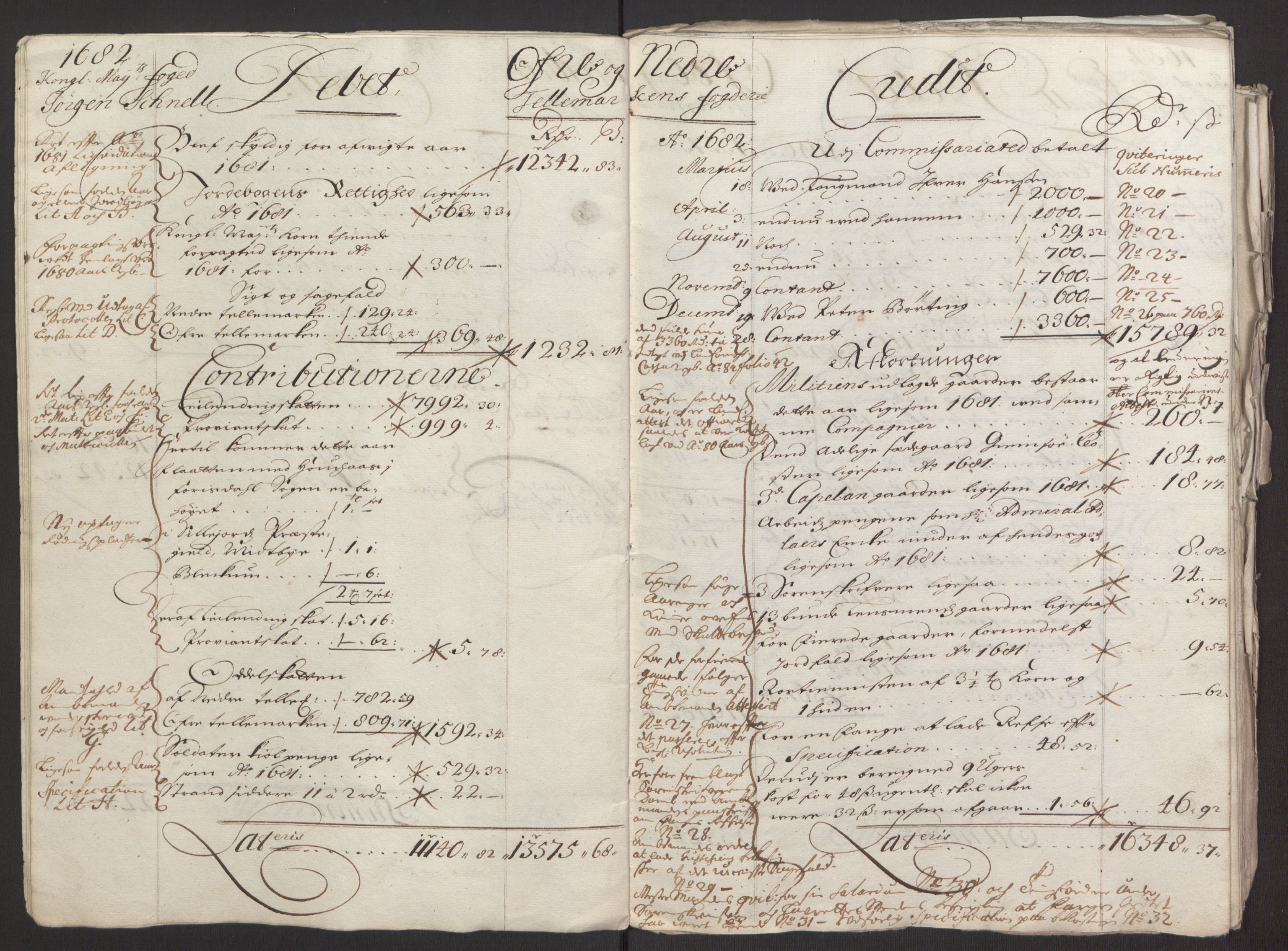 RA, Rentekammeret inntil 1814, Reviderte regnskaper, Fogderegnskap, R35/L2075: Fogderegnskap Øvre og Nedre Telemark, 1680-1684, s. 12