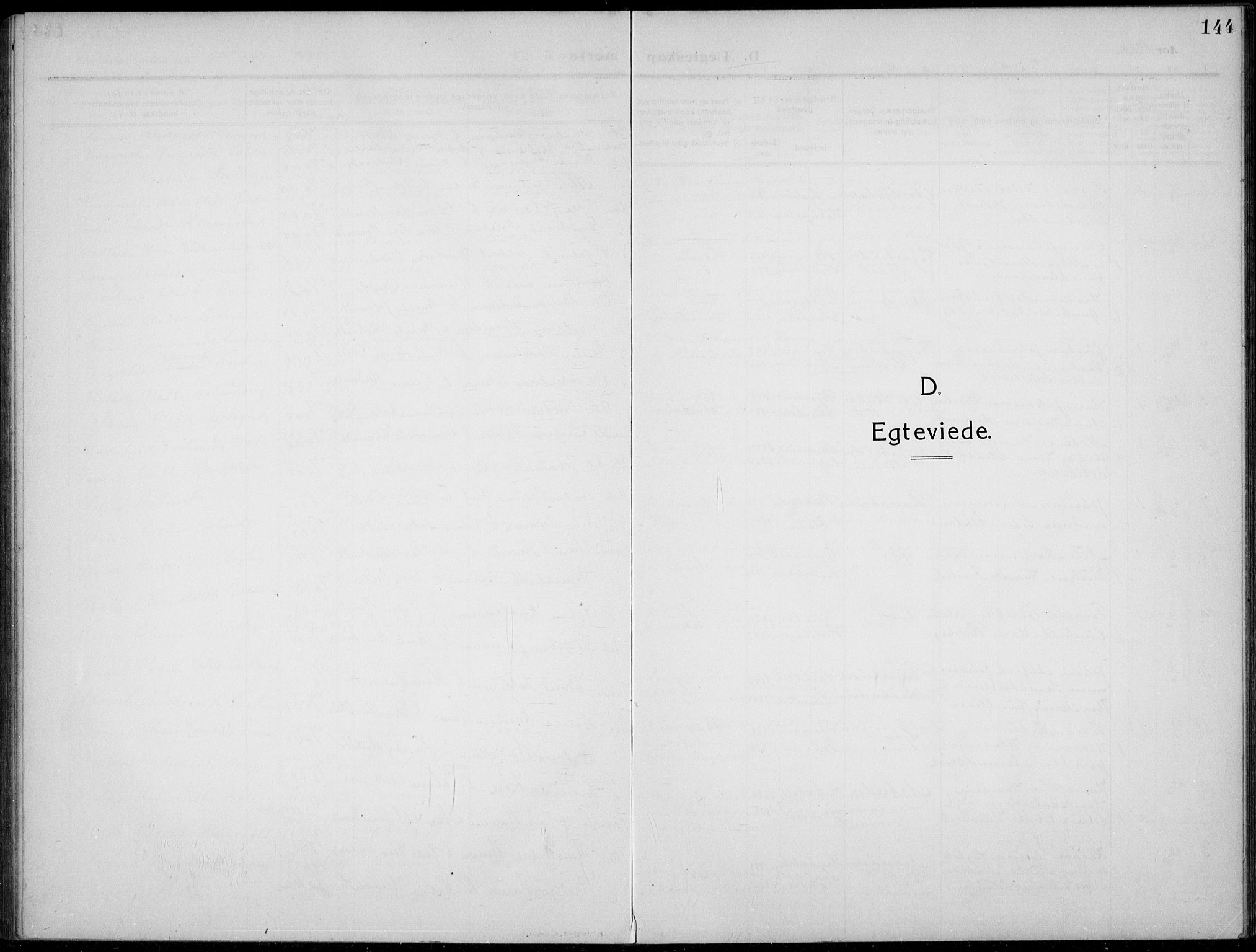 SAH, Nordre Land prestekontor, Klokkerbok nr. 2, 1909-1934, s. 144