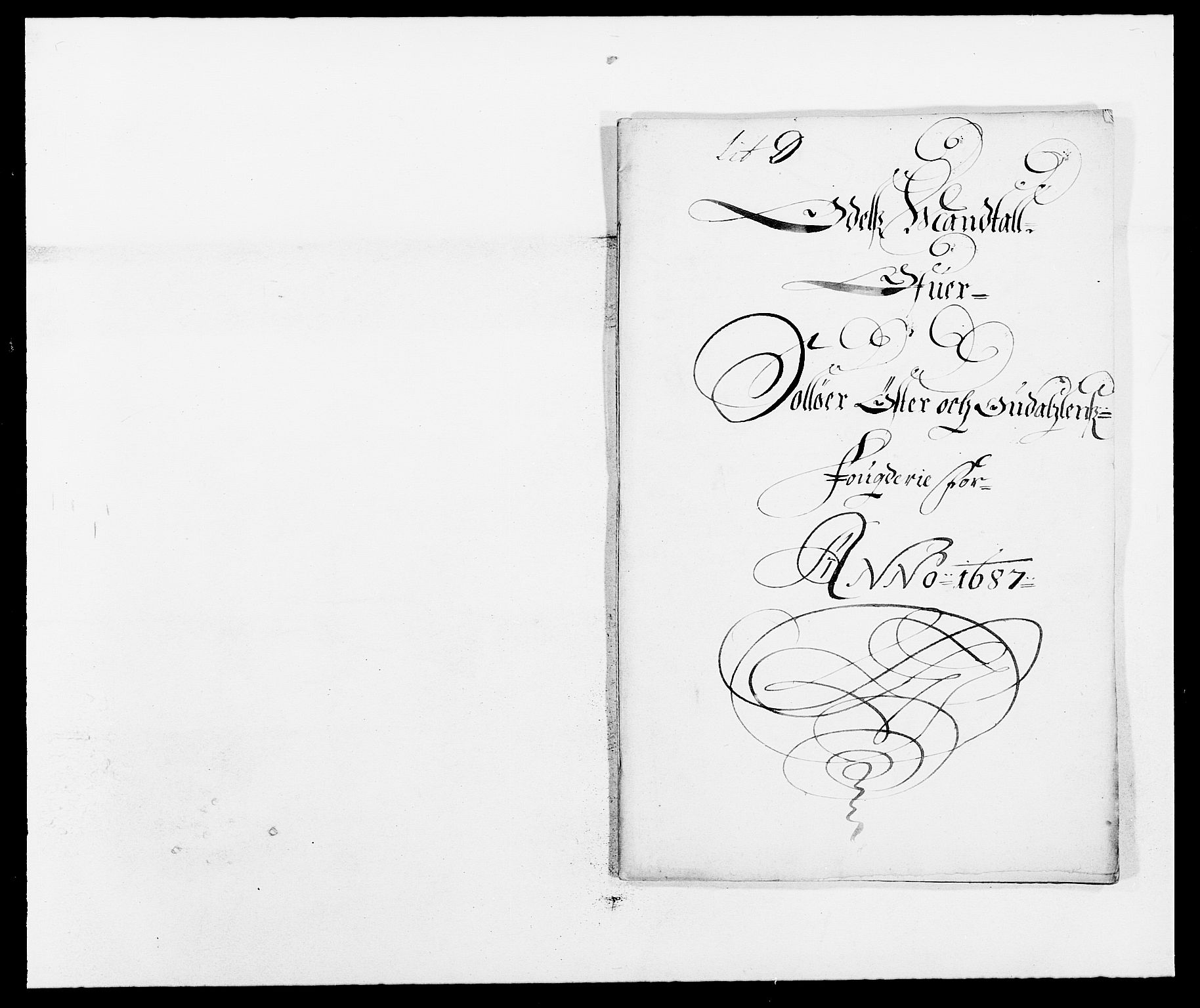 RA, Rentekammeret inntil 1814, Reviderte regnskaper, Fogderegnskap, R13/L0824: Fogderegnskap Solør, Odal og Østerdal, 1687, s. 193