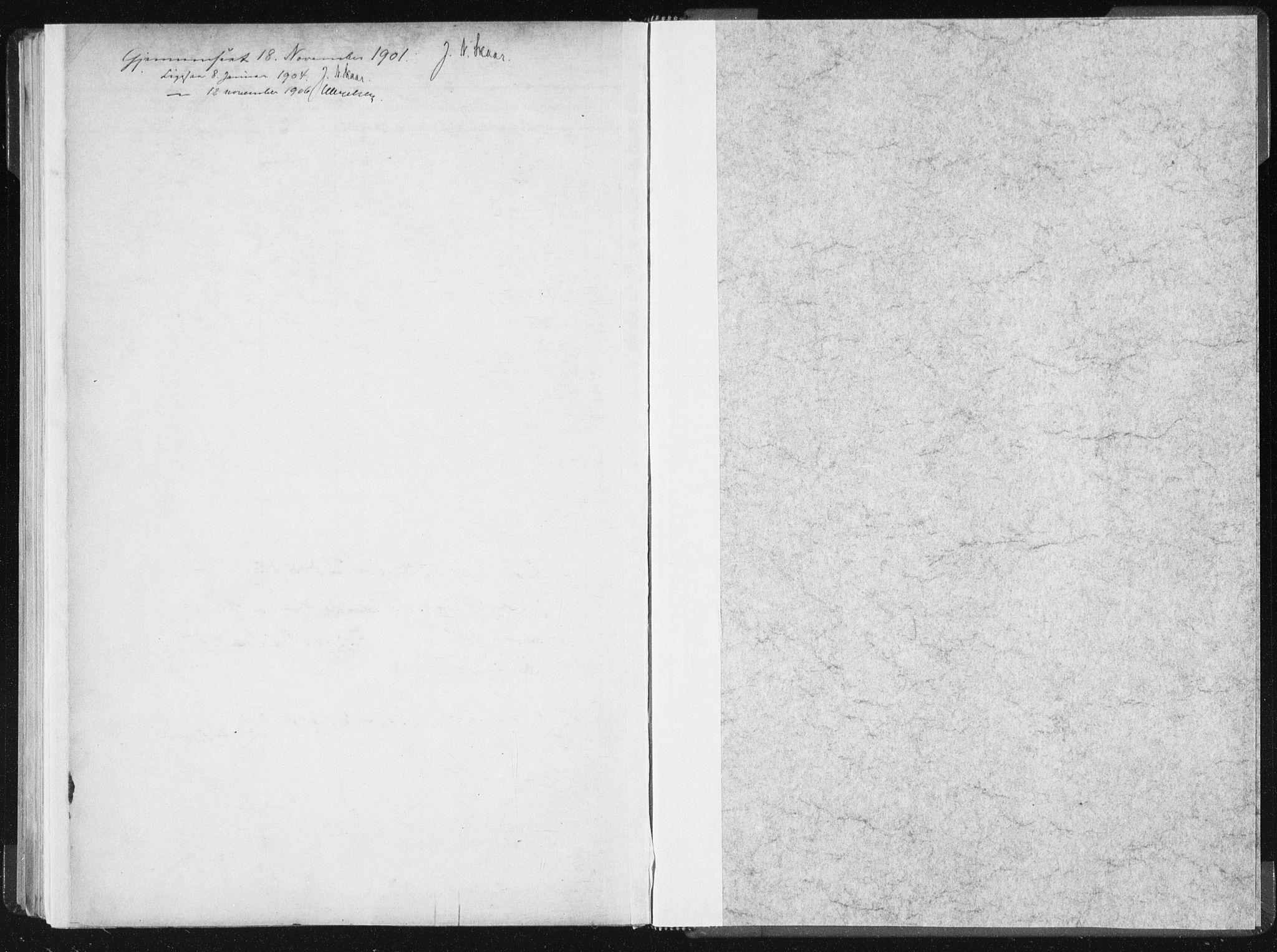 SAT, Ministerialprotokoller, klokkerbøker og fødselsregistre - Sør-Trøndelag, 604/L0200: Ministerialbok nr. 604A20II, 1901-1908