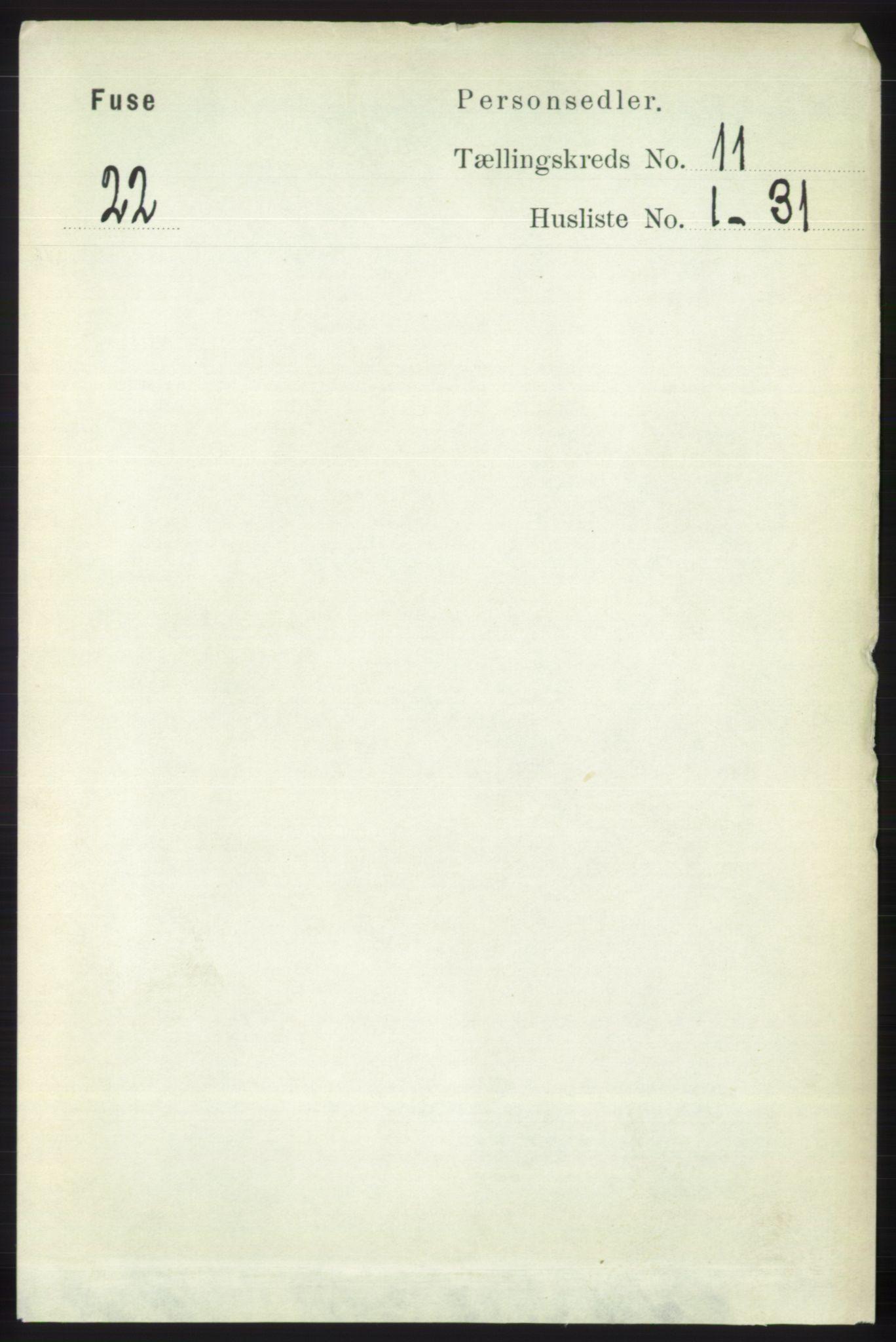 RA, Folketelling 1891 for 1241 Fusa herred, 1891, s. 2117