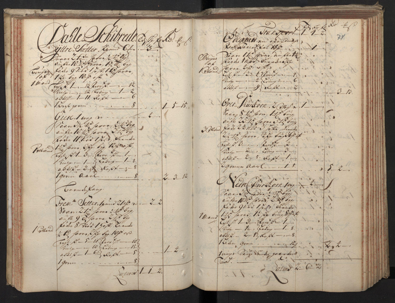 RA, Rentekammeret inntil 1814, Realistisk ordnet avdeling, N/Nb/Nbf/L0148: Sunnmøre, prøvematrikkel, 1714, s. 73b-74a