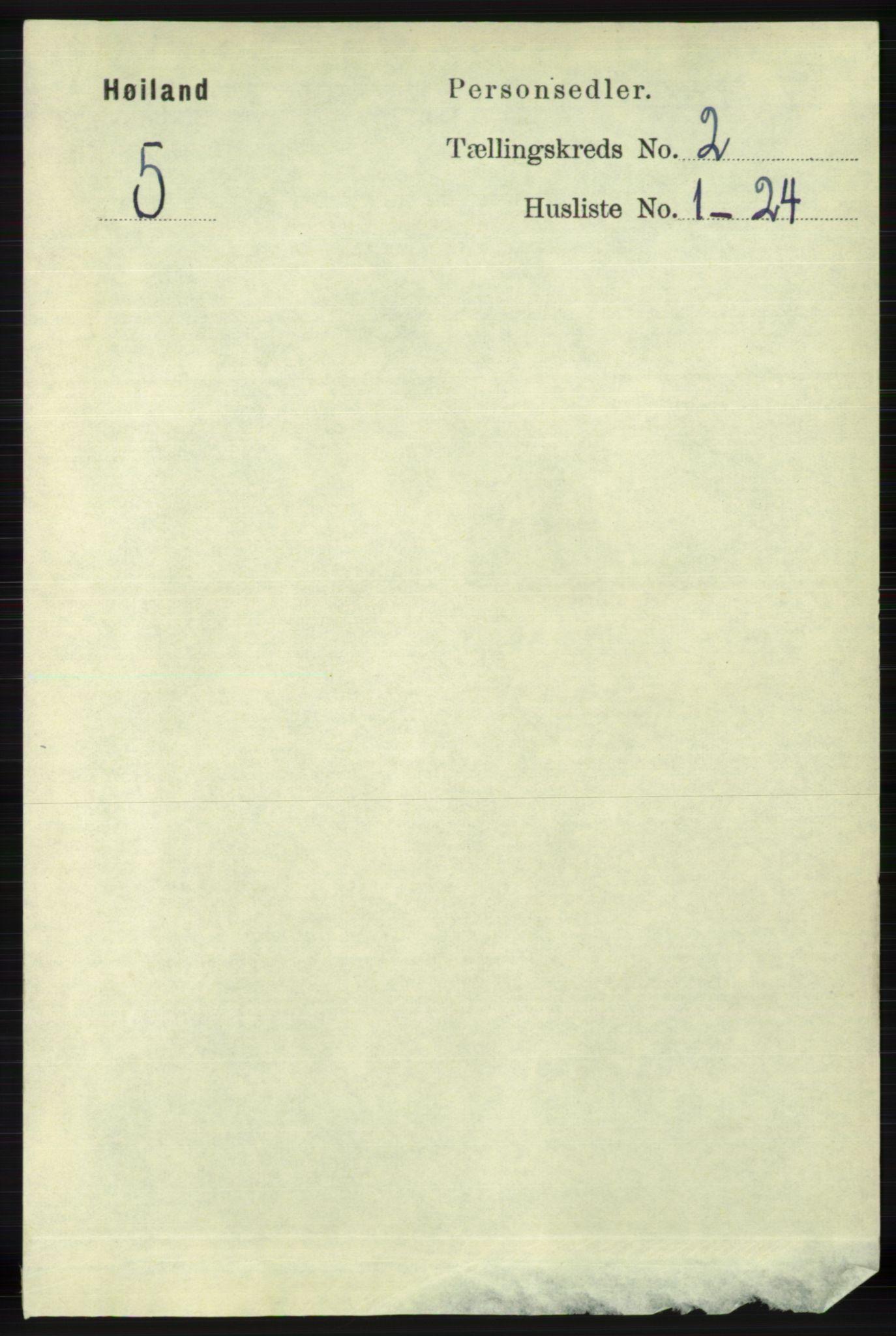 RA, Folketelling 1891 for 1123 Høyland herred, 1891, s. 328