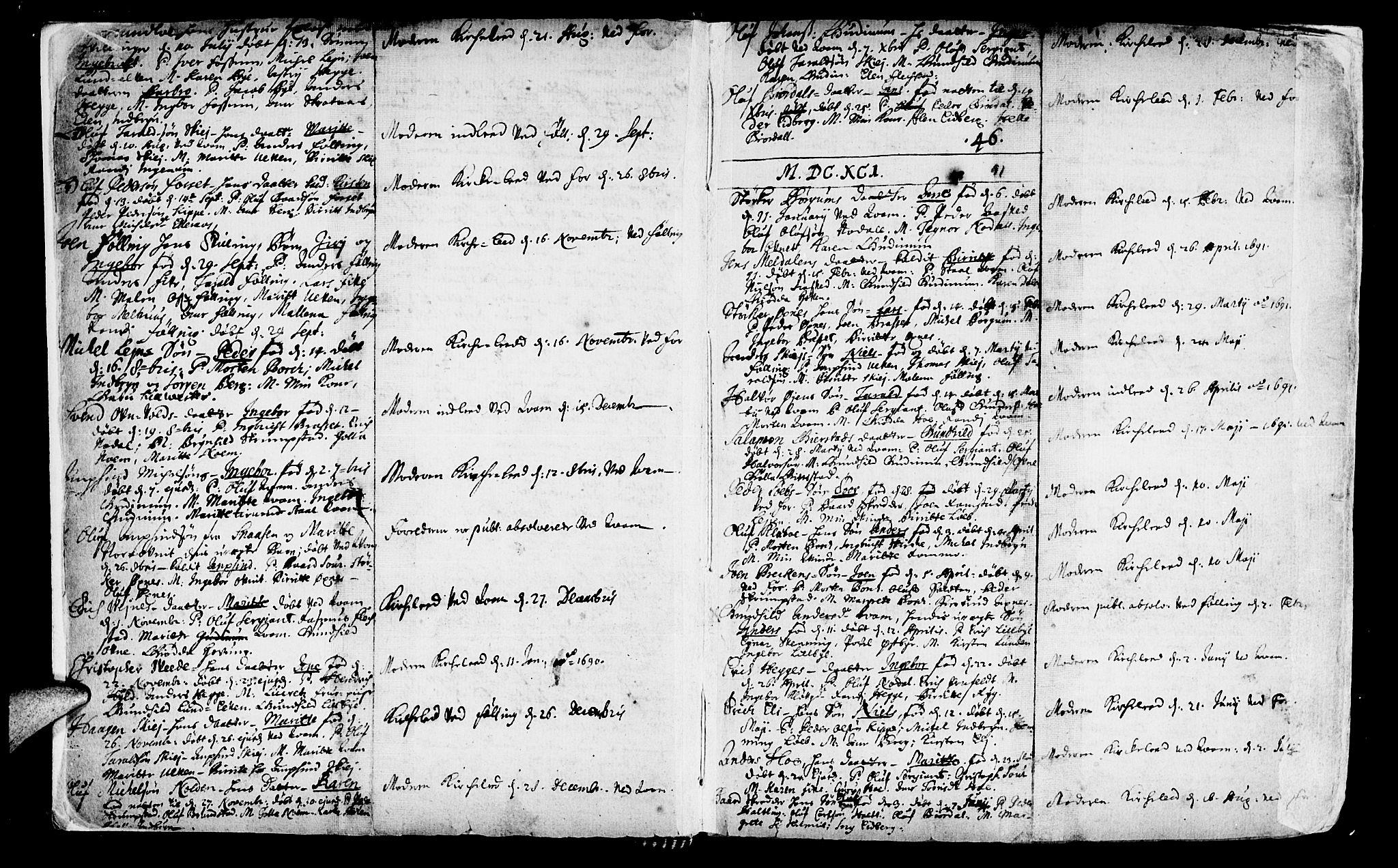 SAT, Ministerialprotokoller, klokkerbøker og fødselsregistre - Nord-Trøndelag, 746/L0439: Ministerialbok nr. 746A01, 1688-1759, s. 5