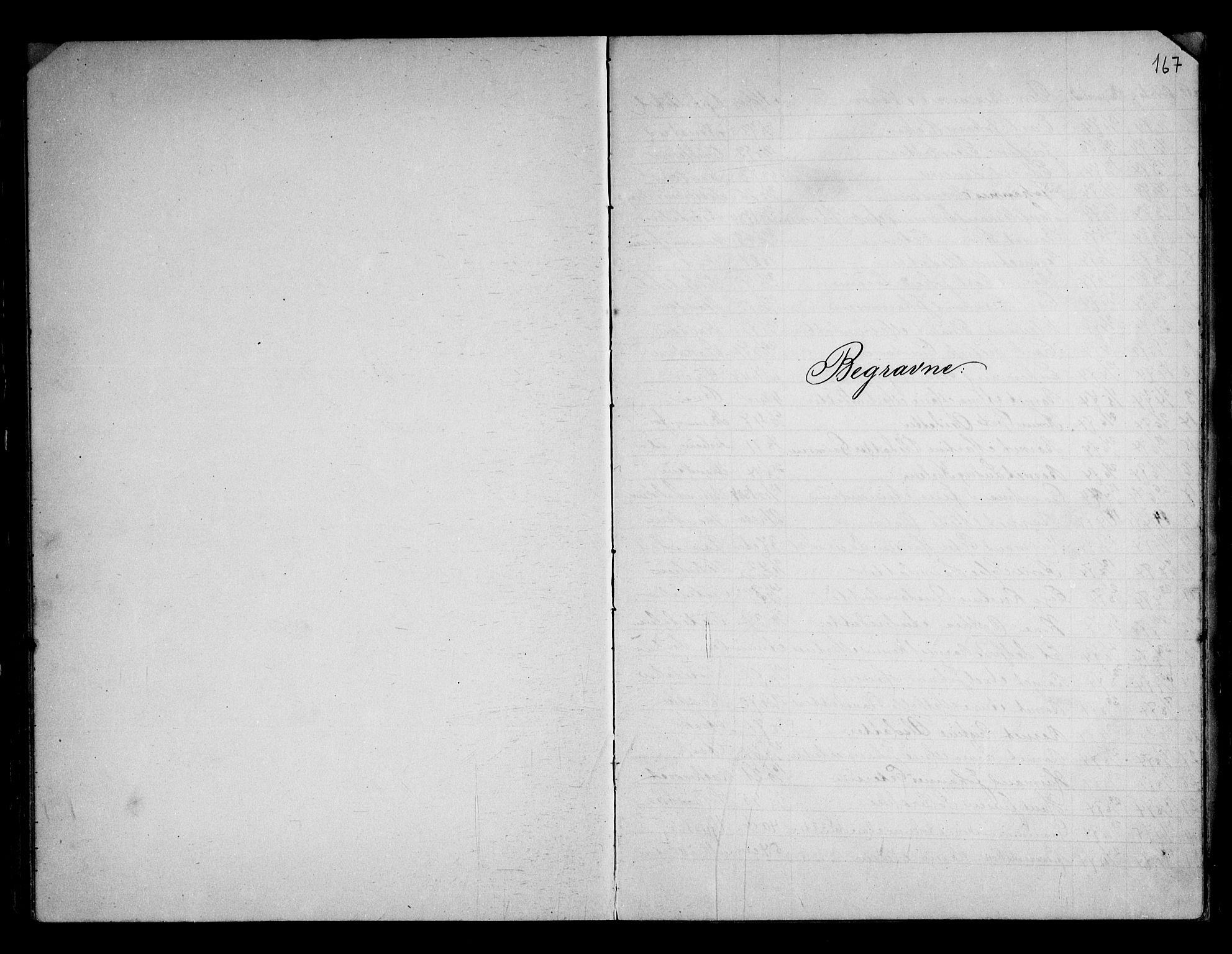 SAO, Berg prestekontor Kirkebøker, G/Gb/L0001: Klokkerbok nr. II 1, 1874-1946, s. 167