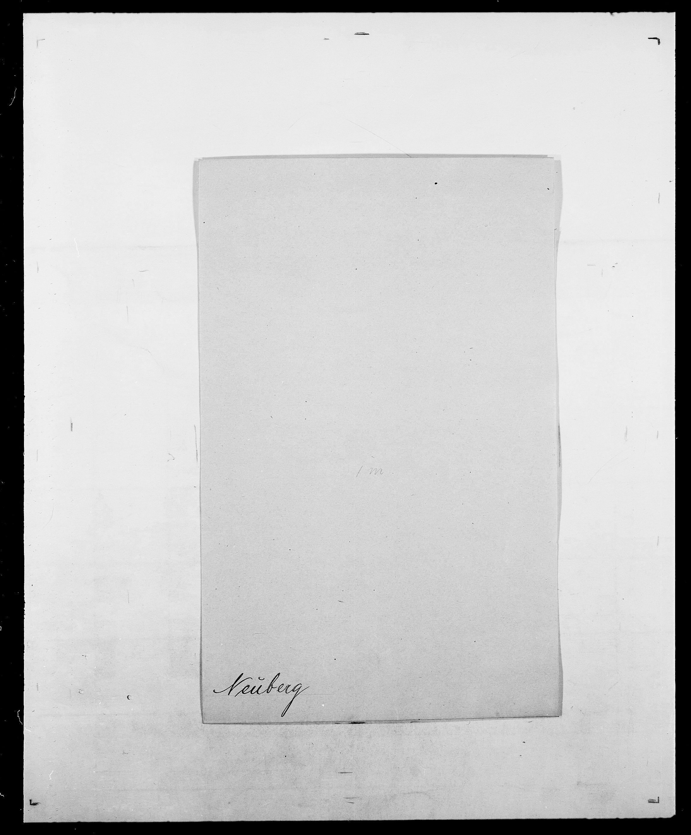 SAO, Delgobe, Charles Antoine - samling, D/Da/L0028: Naaden - Nøvik, s. 129