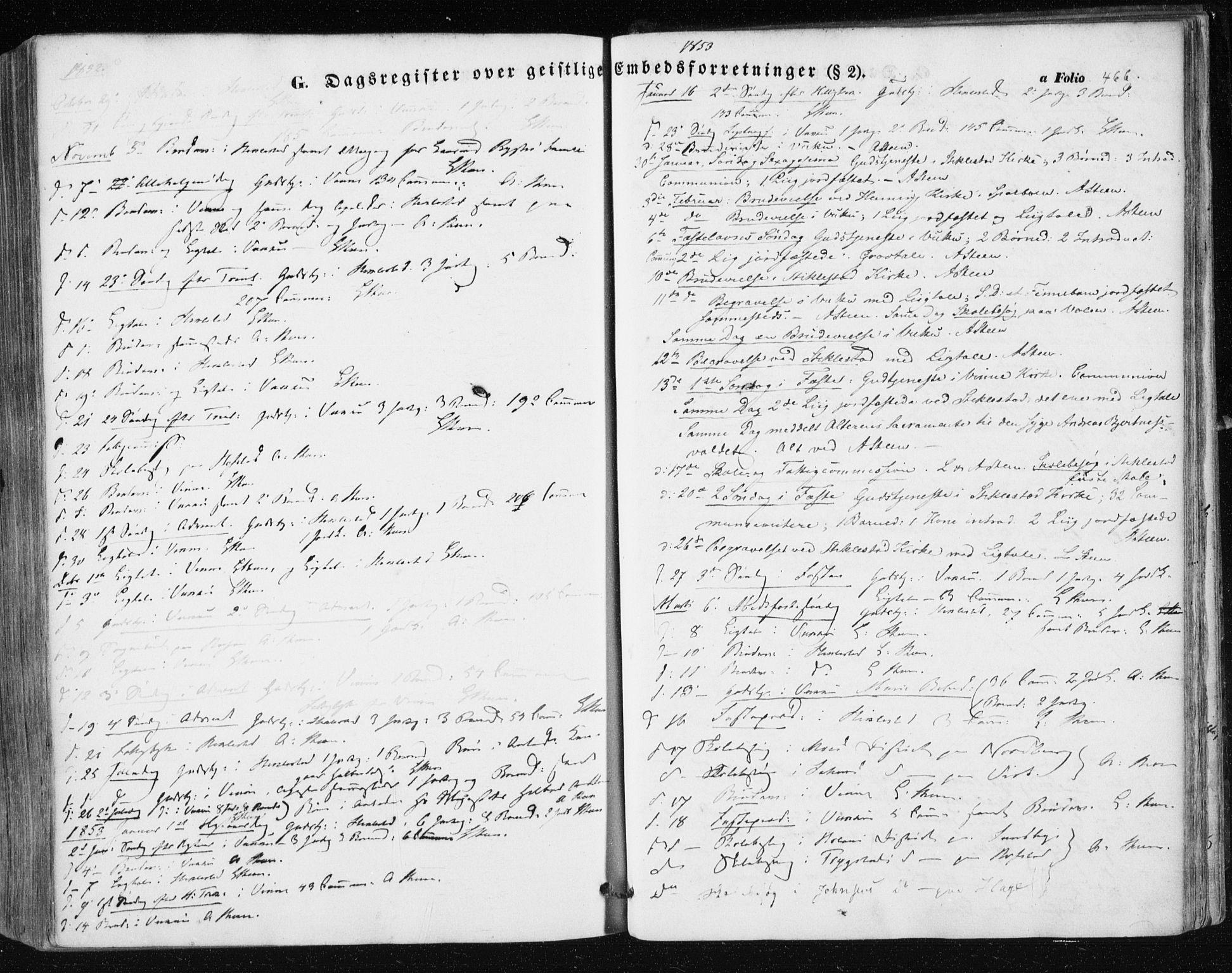 SAT, Ministerialprotokoller, klokkerbøker og fødselsregistre - Nord-Trøndelag, 723/L0240: Ministerialbok nr. 723A09, 1852-1860, s. 466