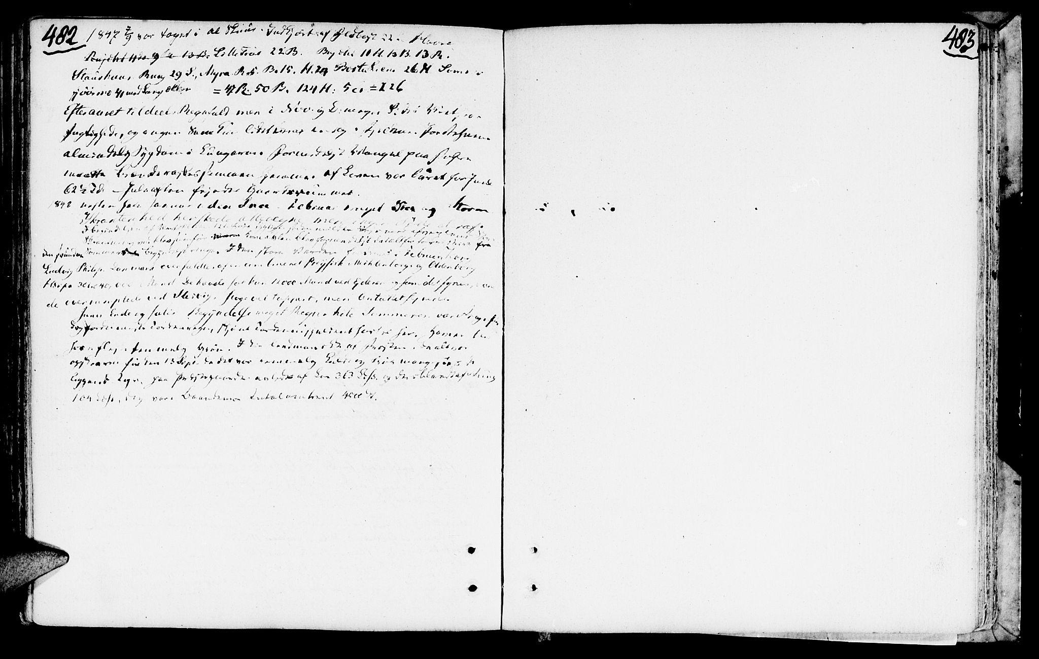 SAT, Ministerialprotokoller, klokkerbøker og fødselsregistre - Nord-Trøndelag, 749/L0468: Ministerialbok nr. 749A02, 1787-1817, s. 482-483