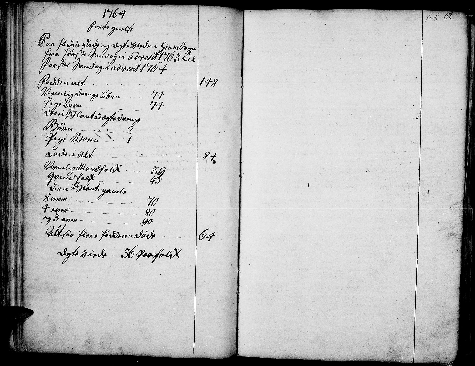SAH, Gran prestekontor, Ministerialbok nr. 4, 1759-1775, s. 62