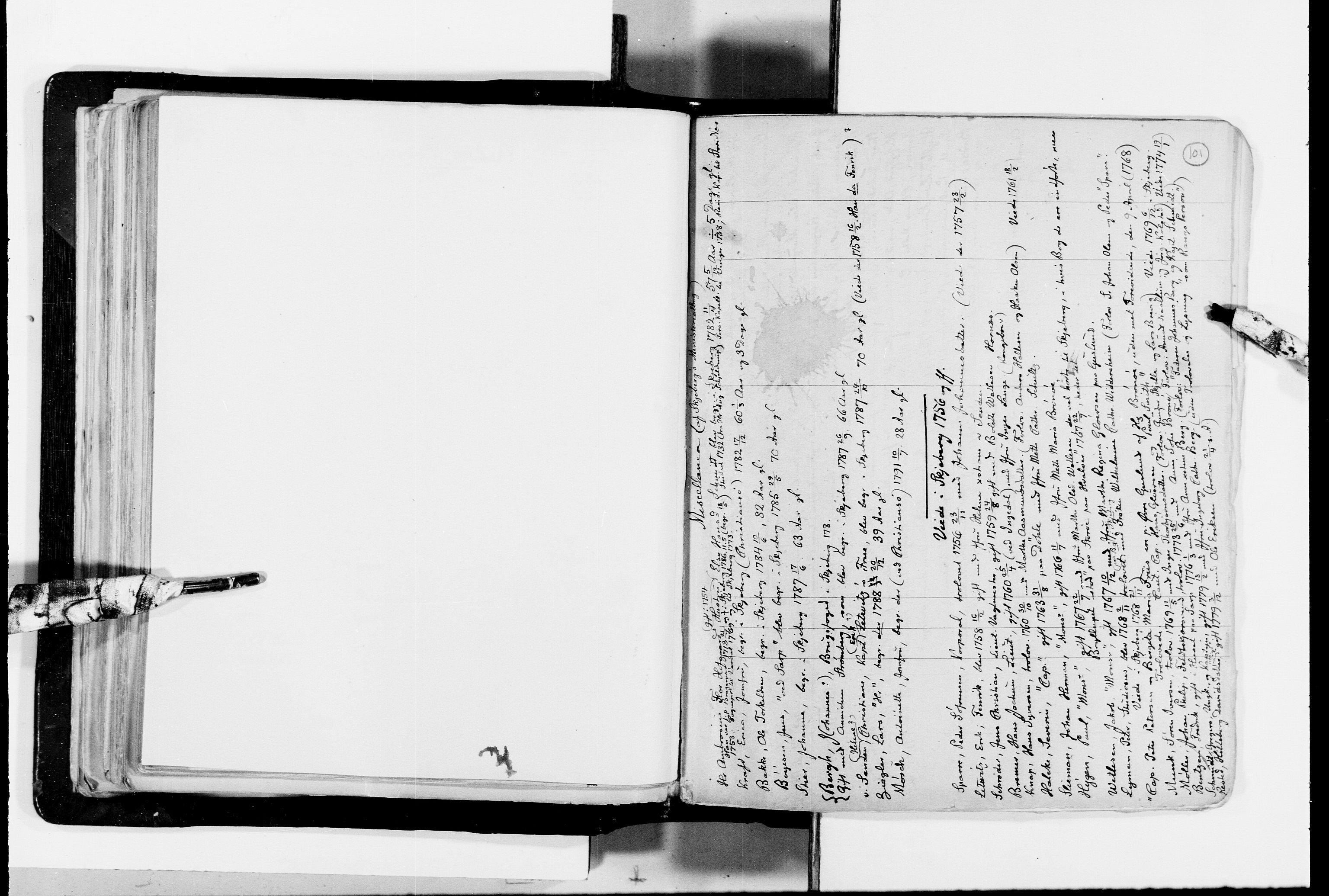 RA, Lassens samlinger, F/Fc, s. 101