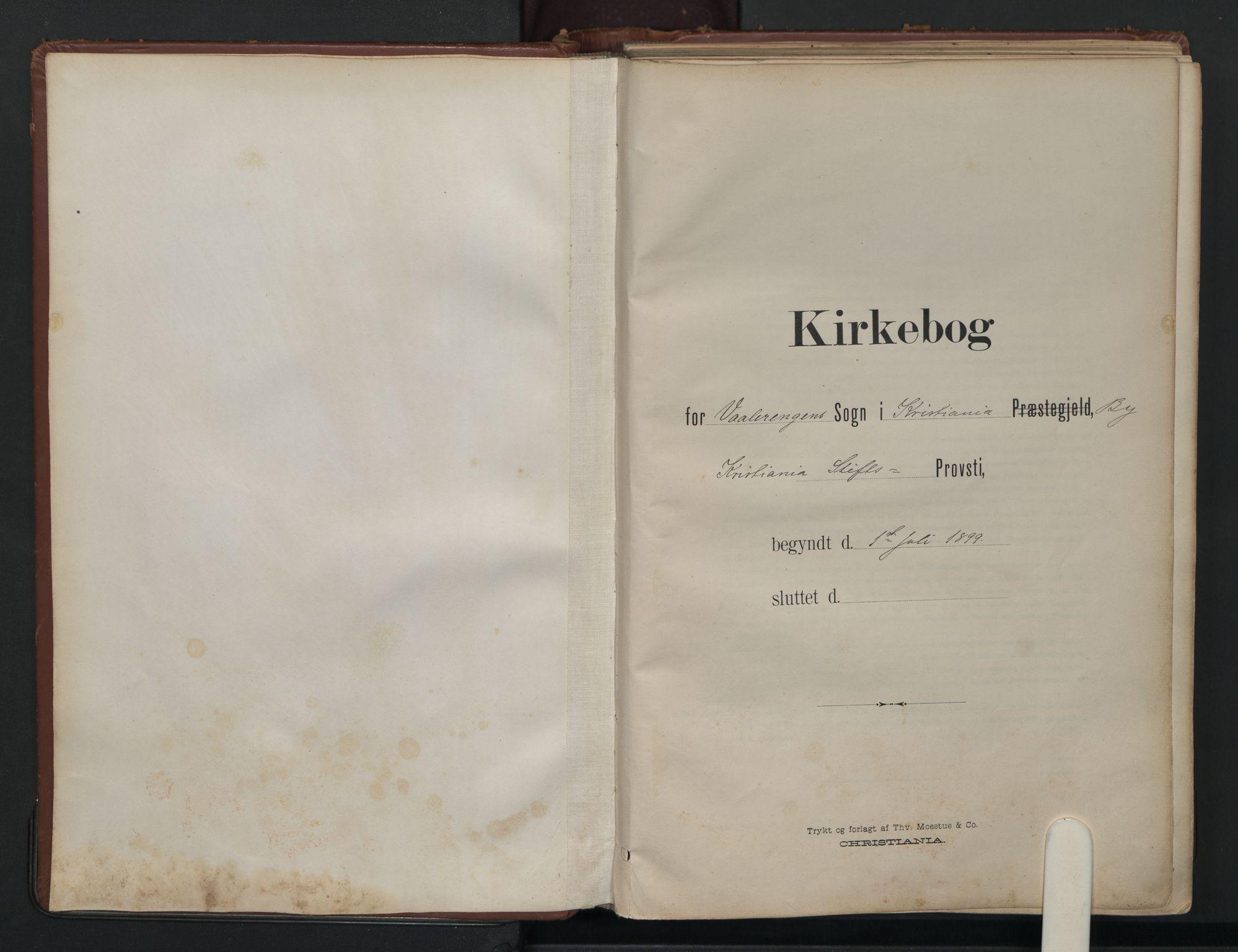SAO, Vålerengen prestekontor Kirkebøker, F/Fa/L0003: Ministerialbok nr. 3, 1899-1930