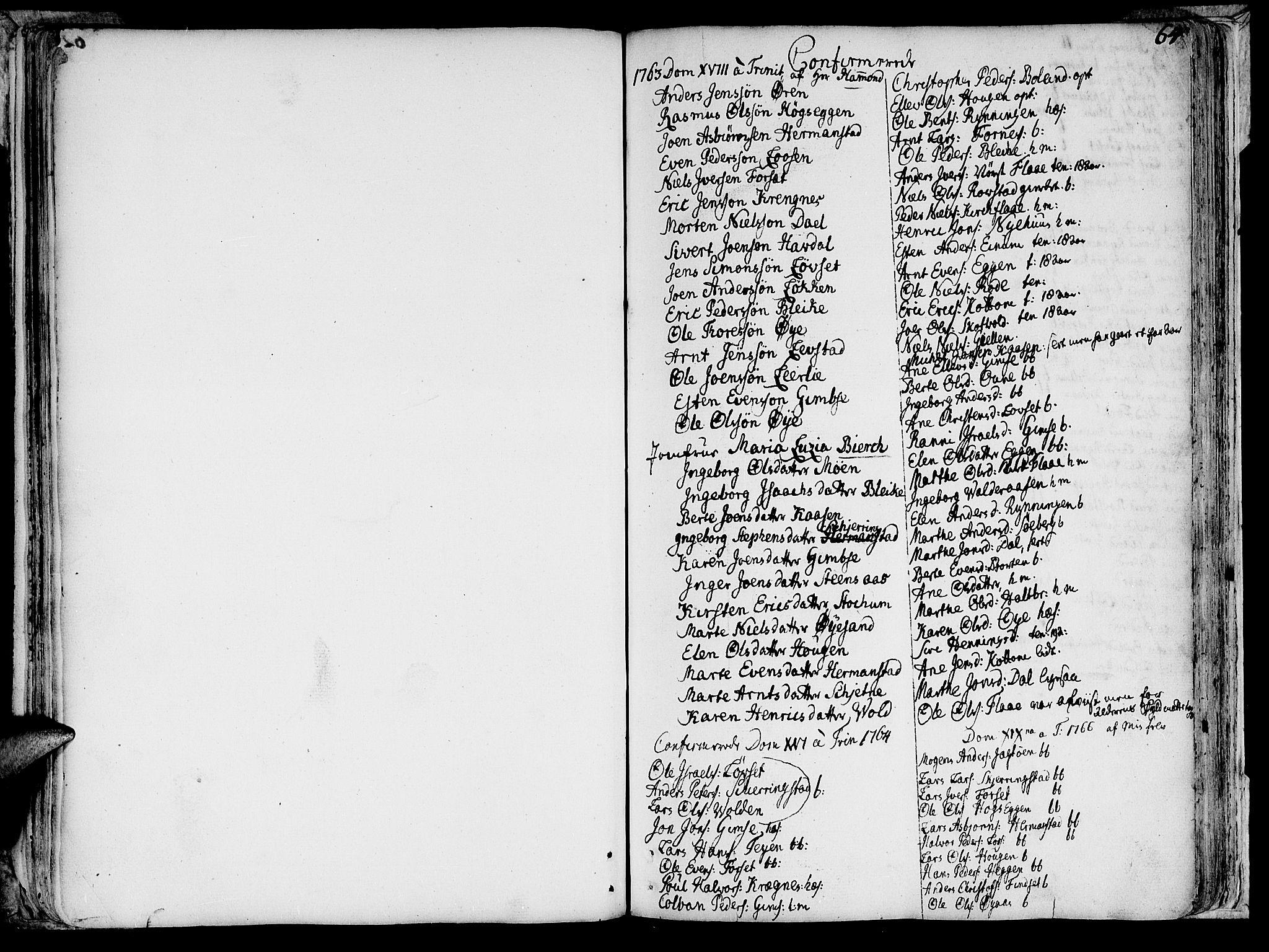 SAT, Ministerialprotokoller, klokkerbøker og fødselsregistre - Sør-Trøndelag, 691/L1057: Ministerialbok nr. 691A01 /1, 1740-1767, s. 64