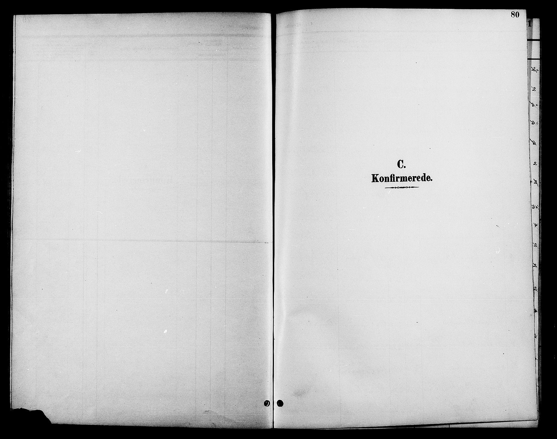 SAH, Fåberg prestekontor, Klokkerbok nr. 10, 1892-1900, s. 80
