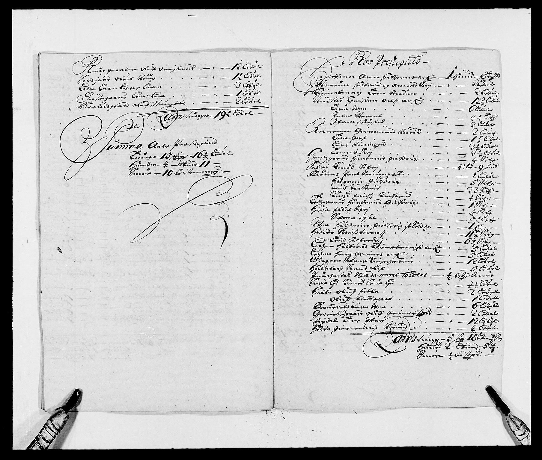 RA, Rentekammeret inntil 1814, Reviderte regnskaper, Fogderegnskap, R21/L1447: Fogderegnskap Ringerike og Hallingdal, 1687-1689, s. 173