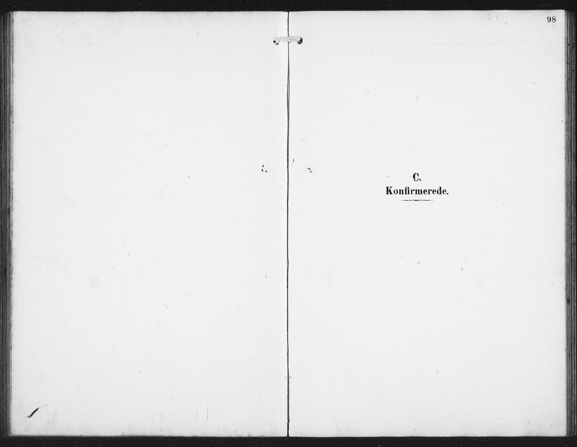 SAST, Skudenes sokneprestkontor, H/Ha/Hab/L0011: Klokkerbok nr. B 11, 1909-1943, s. 98