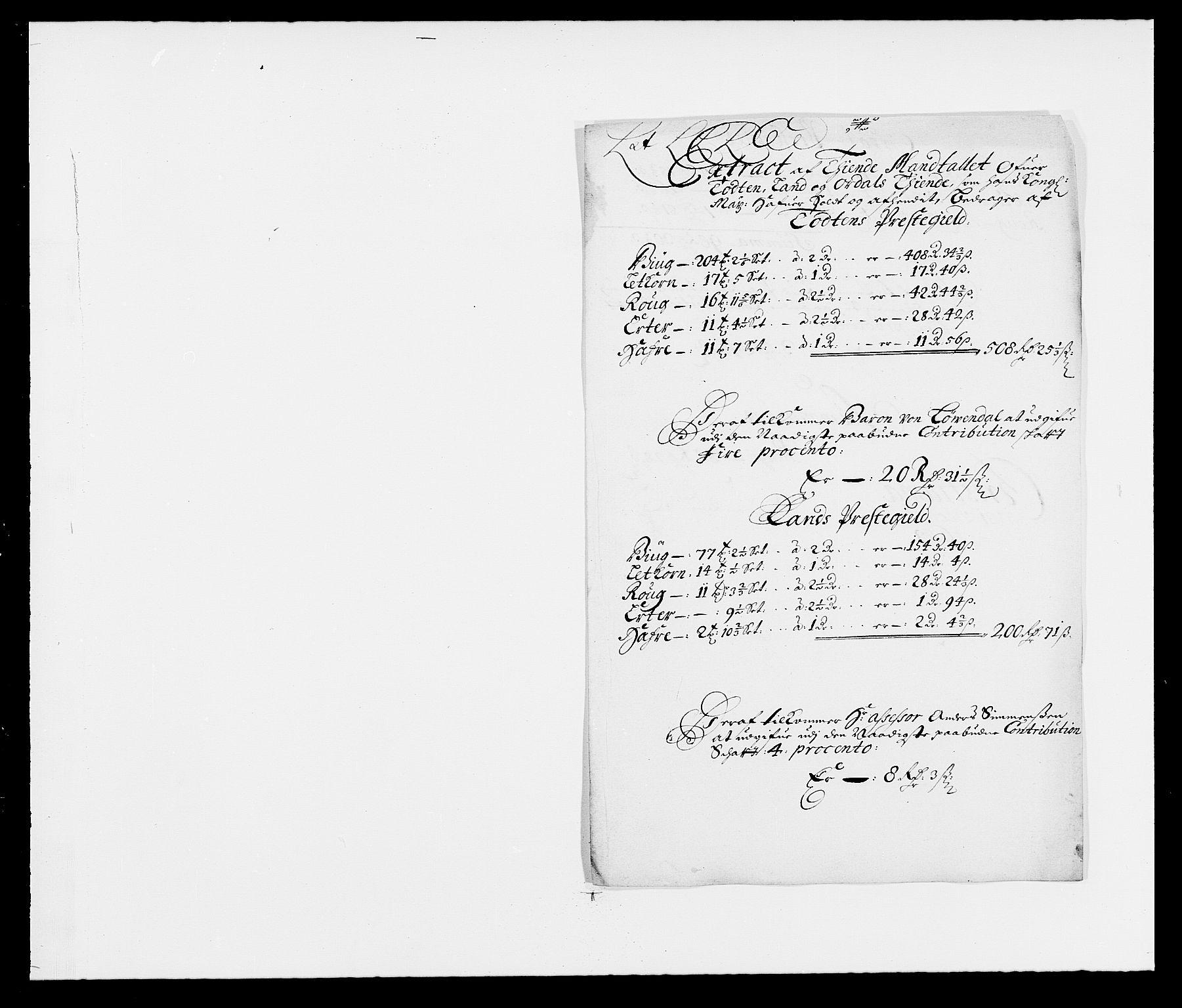 RA, Rentekammeret inntil 1814, Reviderte regnskaper, Fogderegnskap, R18/L1282: Fogderegnskap Hadeland, Toten og Valdres, 1683, s. 212