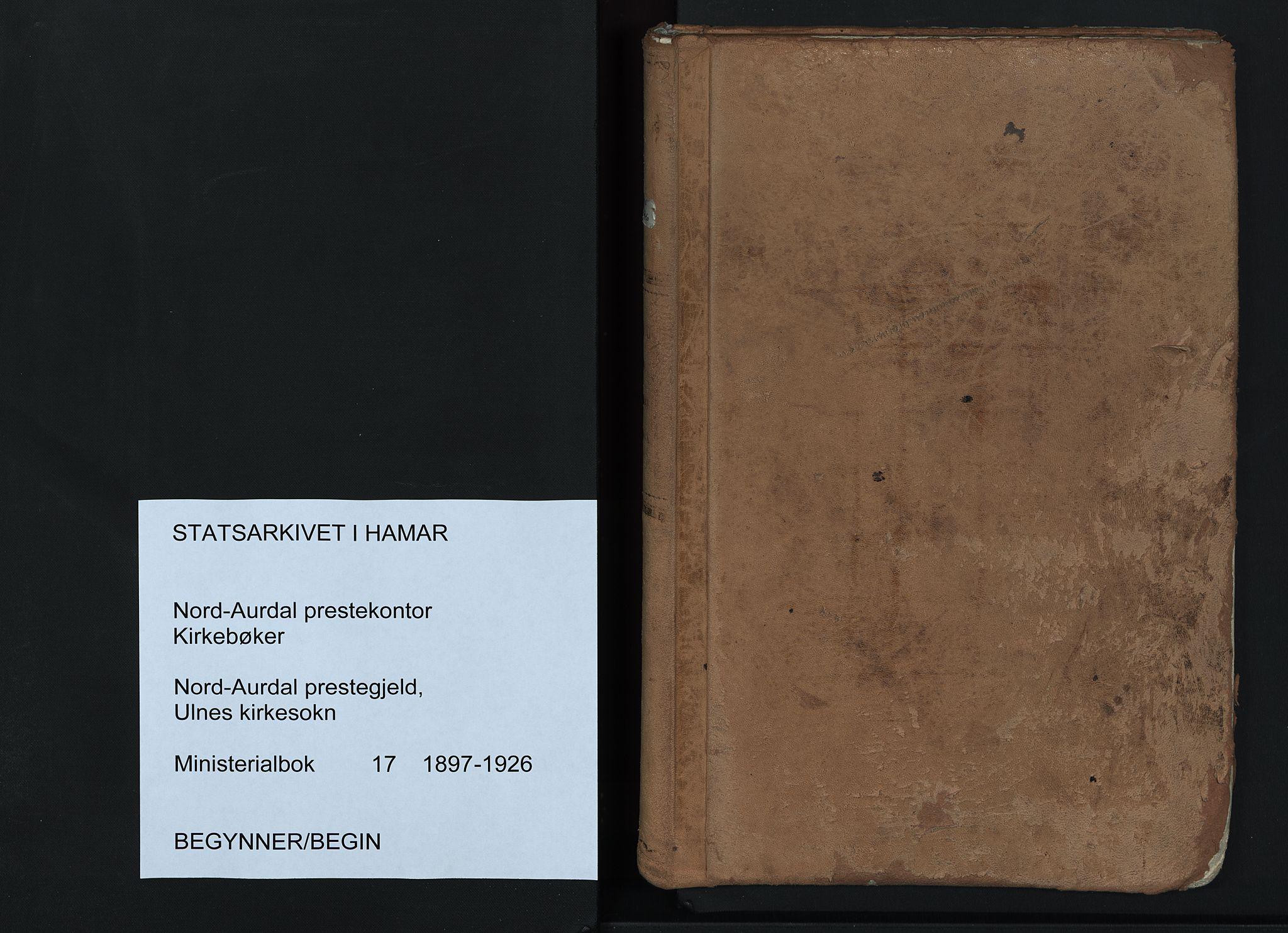 SAH, Nord-Aurdal prestekontor, Ministerialbok nr. 17, 1897-1926