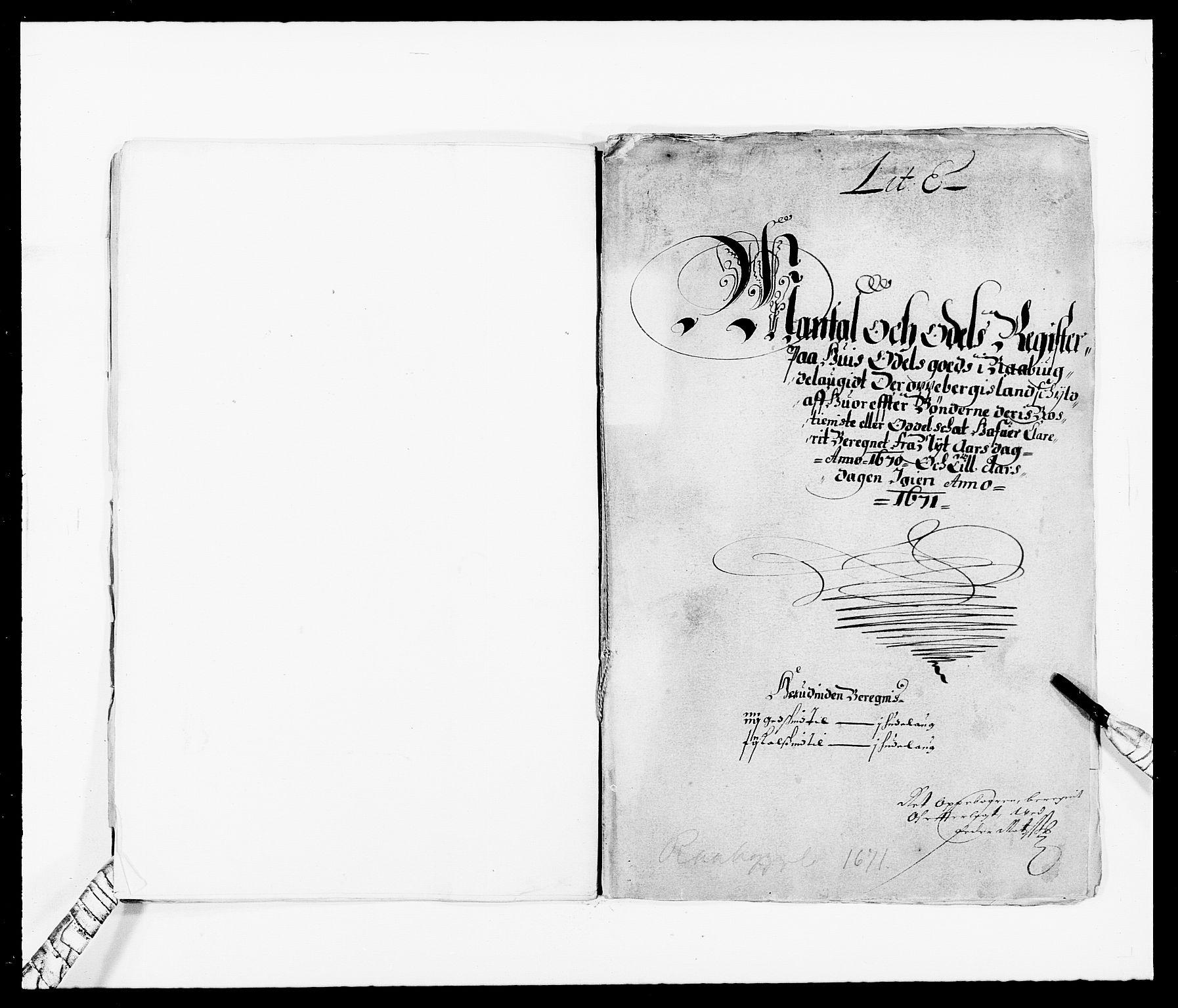 RA, Rentekammeret inntil 1814, Reviderte regnskaper, Fogderegnskap, R40/L2432: Fogderegnskap Råbyggelag, 1669-1670, s. 189