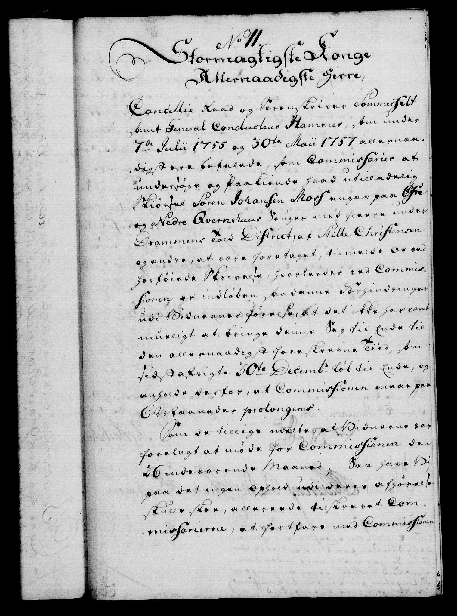 RA, Rentekammeret, Kammerkanselliet, G/Gf/Gfa/L0040: Norsk relasjons- og resolusjonsprotokoll (merket RK 52.40), 1758, s. 74