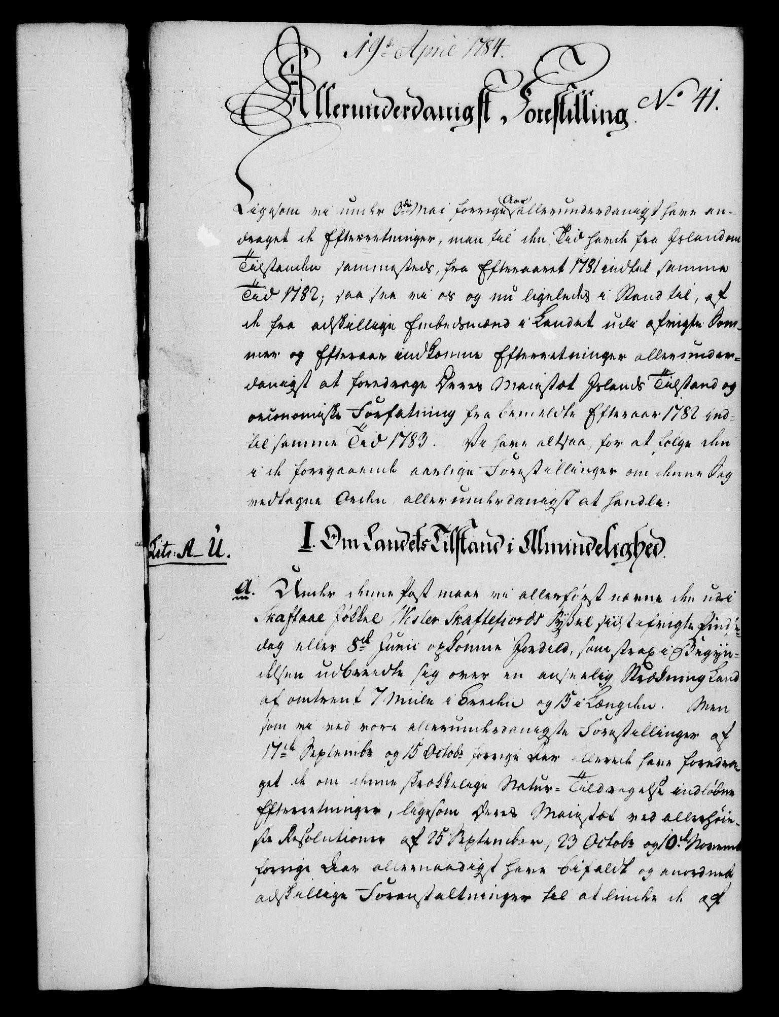 RA, Rentekammeret, Kammerkanselliet, G/Gf/Gfa/L0066: Norsk relasjons- og resolusjonsprotokoll (merket RK 52.66), 1784, s. 332