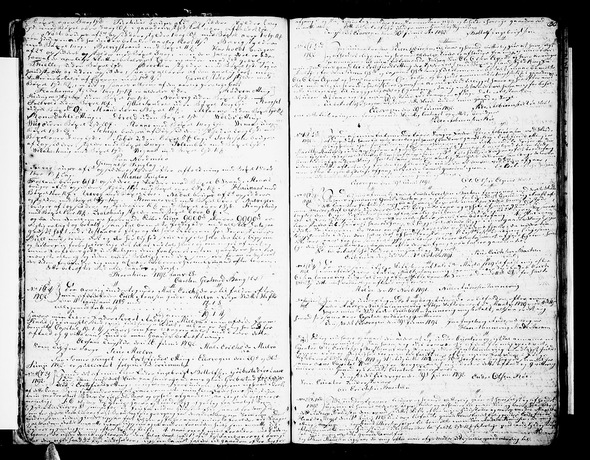 SAT, Romsdal sorenskriveri, 2/2C/L0006: Pantebok nr. 5 I-II, 1791-1806, s. 30