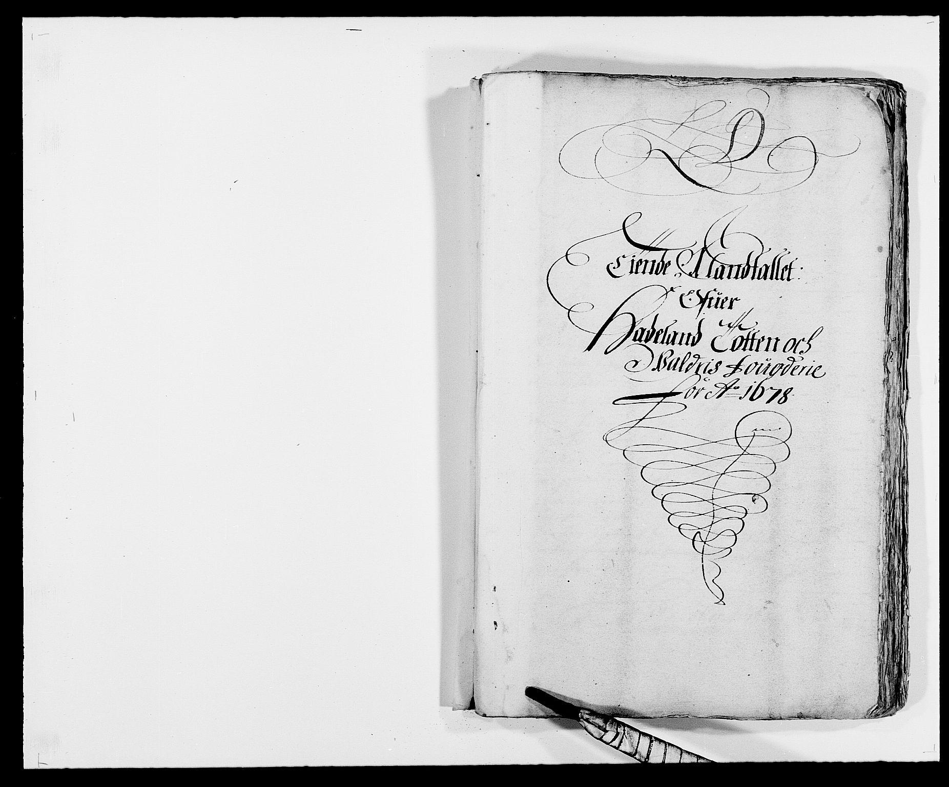 RA, Rentekammeret inntil 1814, Reviderte regnskaper, Fogderegnskap, R18/L1270: Fogderegnskap Hadeland, Toten og Valdres, 1678, s. 105