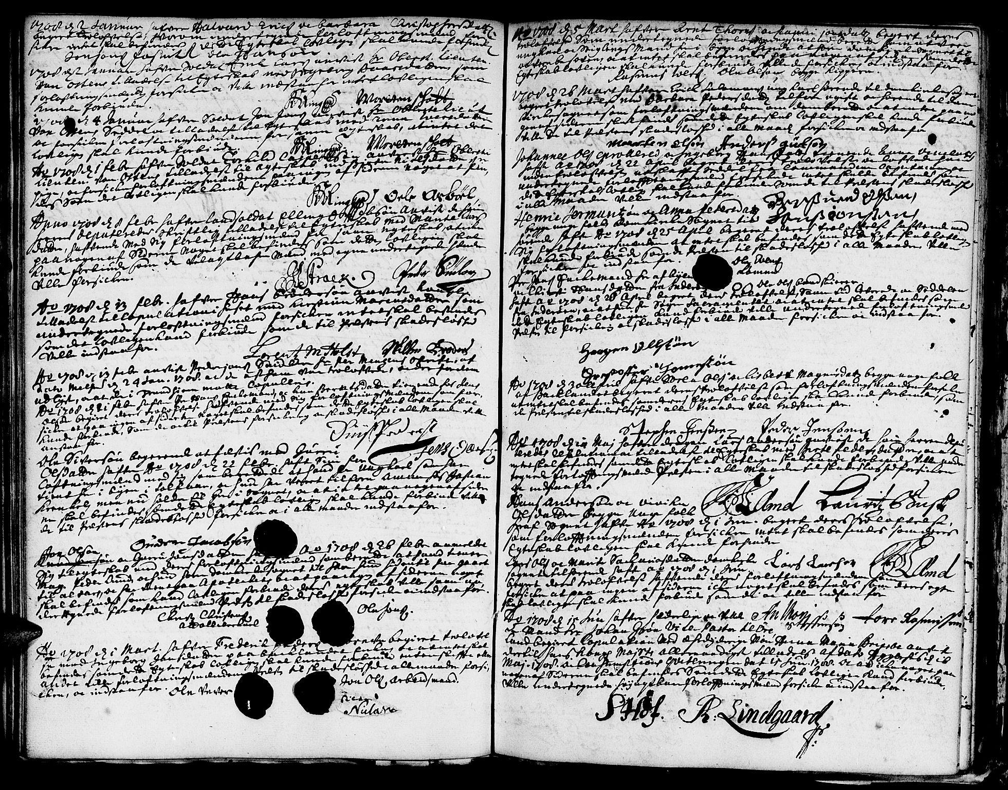 SAT, Ministerialprotokoller, klokkerbøker og fødselsregistre - Sør-Trøndelag, 601/L0033: Ministerialbok nr. 601A01, 1679-1728