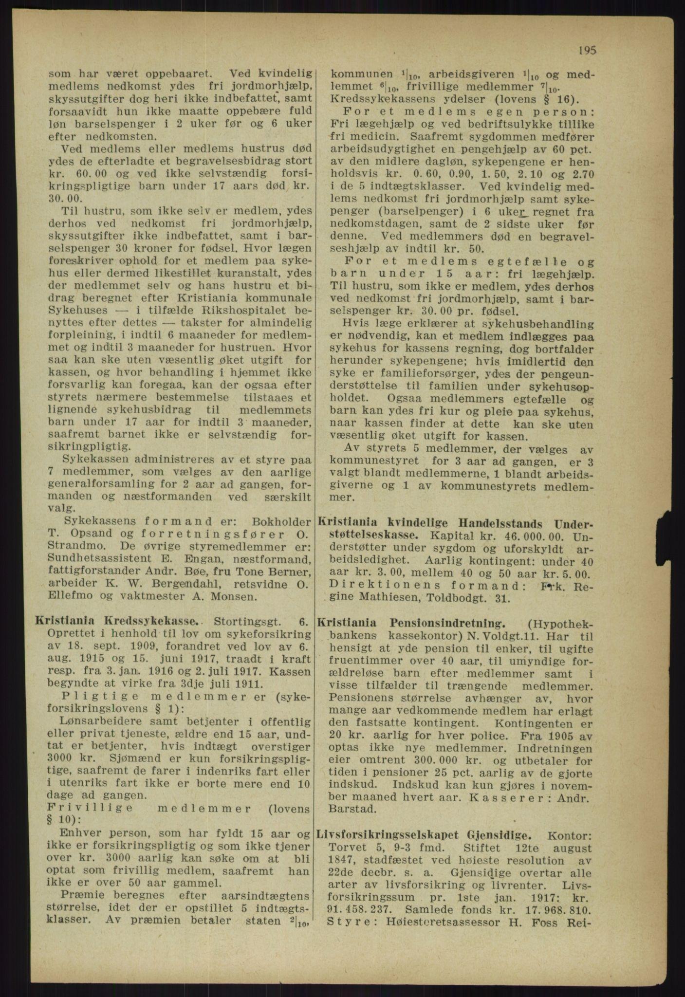 PUBL, Kristiania/Oslo adressebok, 1918, s. 208
