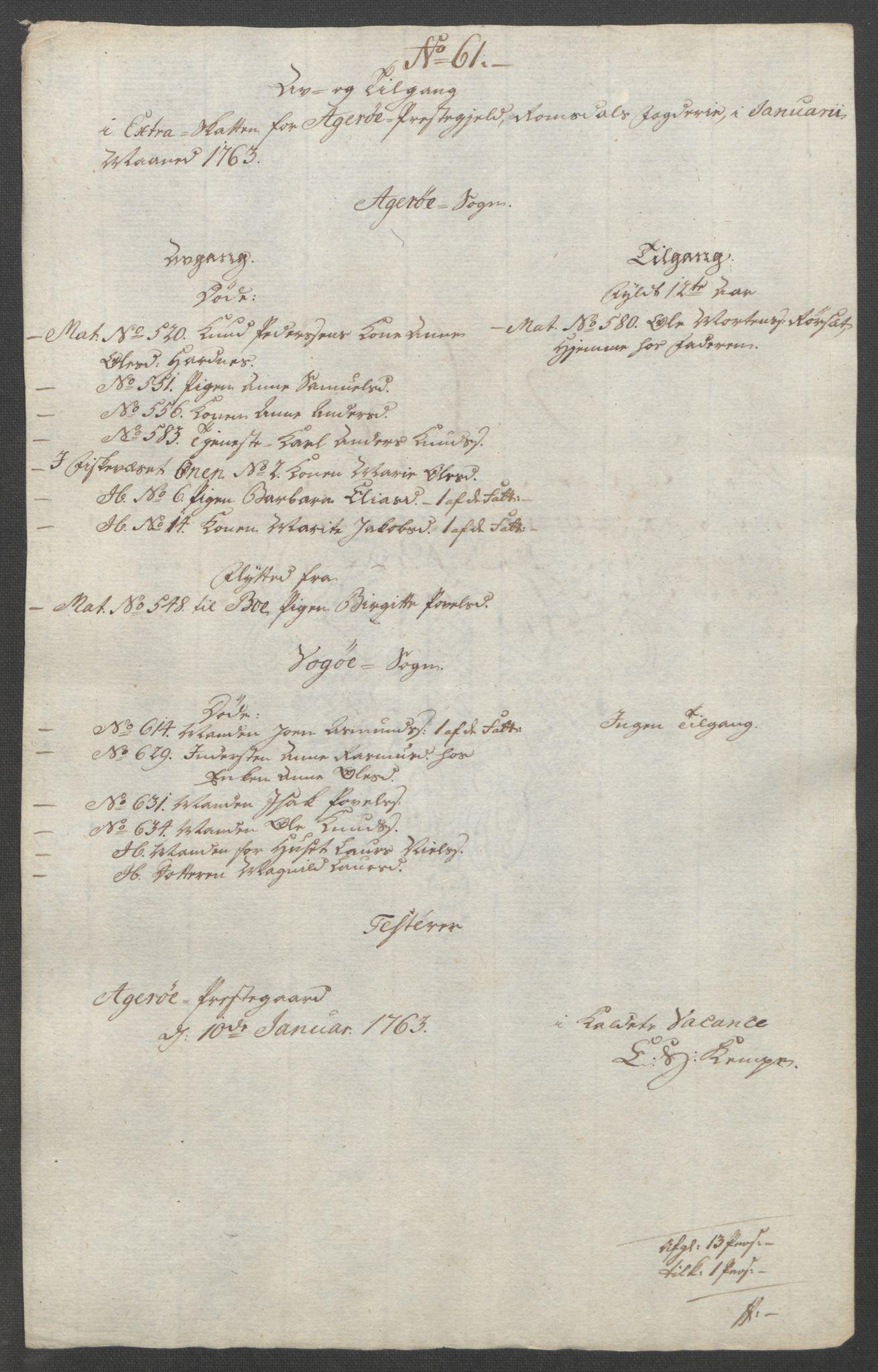 RA, Rentekammeret inntil 1814, Reviderte regnskaper, Fogderegnskap, R55/L3730: Ekstraskatten Romsdal, 1762-1763, s. 491