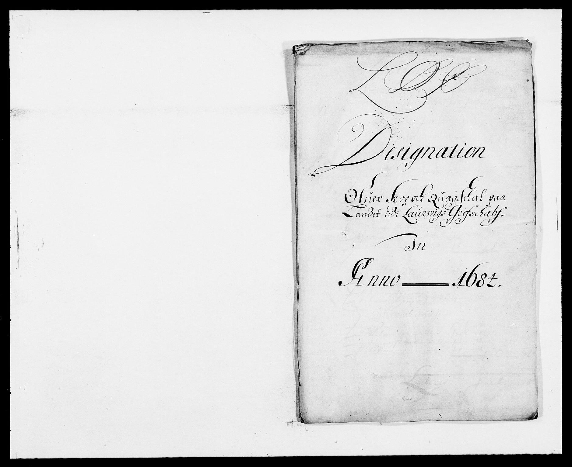 RA, Rentekammeret inntil 1814, Reviderte regnskaper, Fogderegnskap, R33/L1969: Fogderegnskap Larvik grevskap, 1675-1687, s. 447