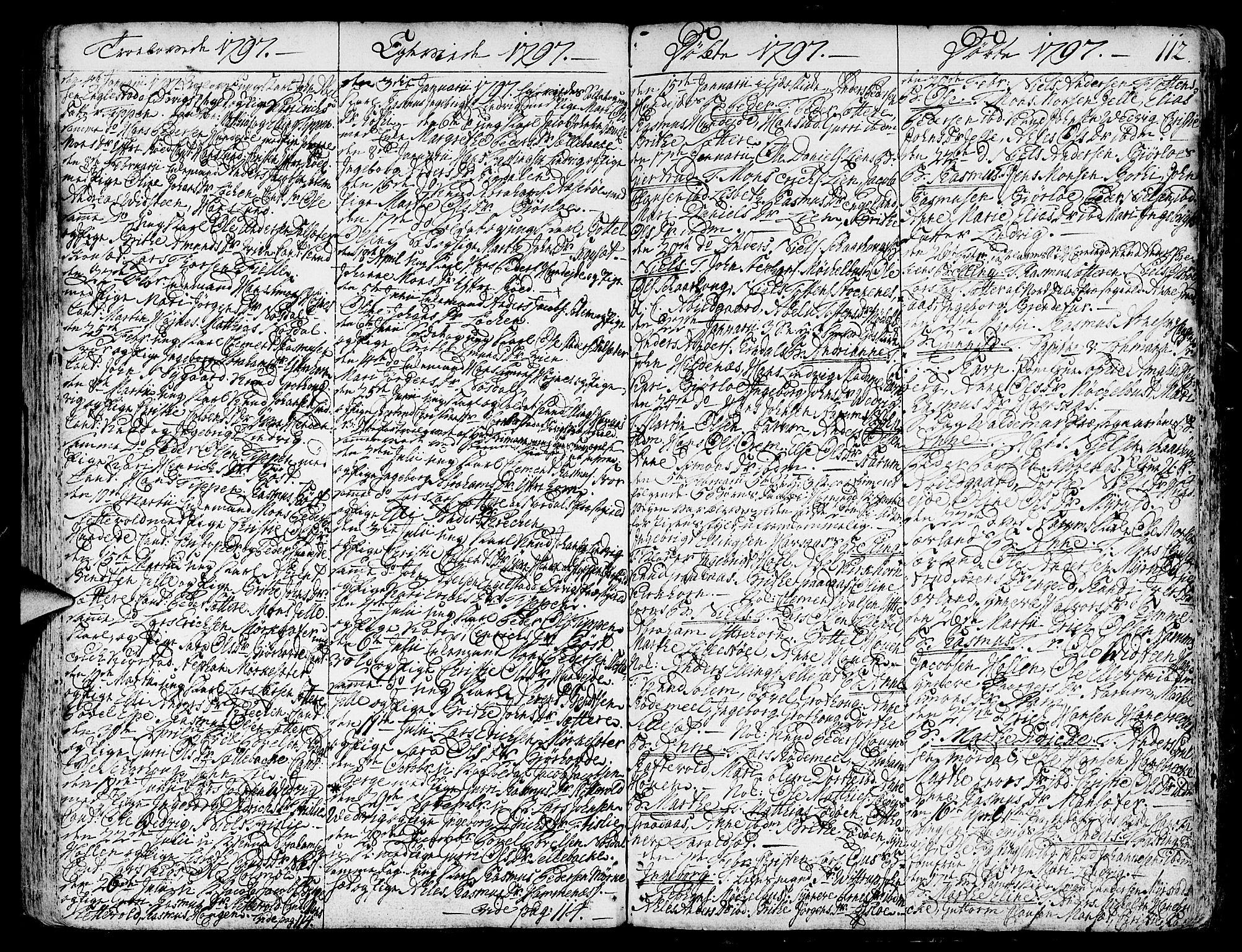 SAB, Eid Sokneprestembete, H/Haa: Ministerialbok nr. A 3, 1770-1805, s. 112
